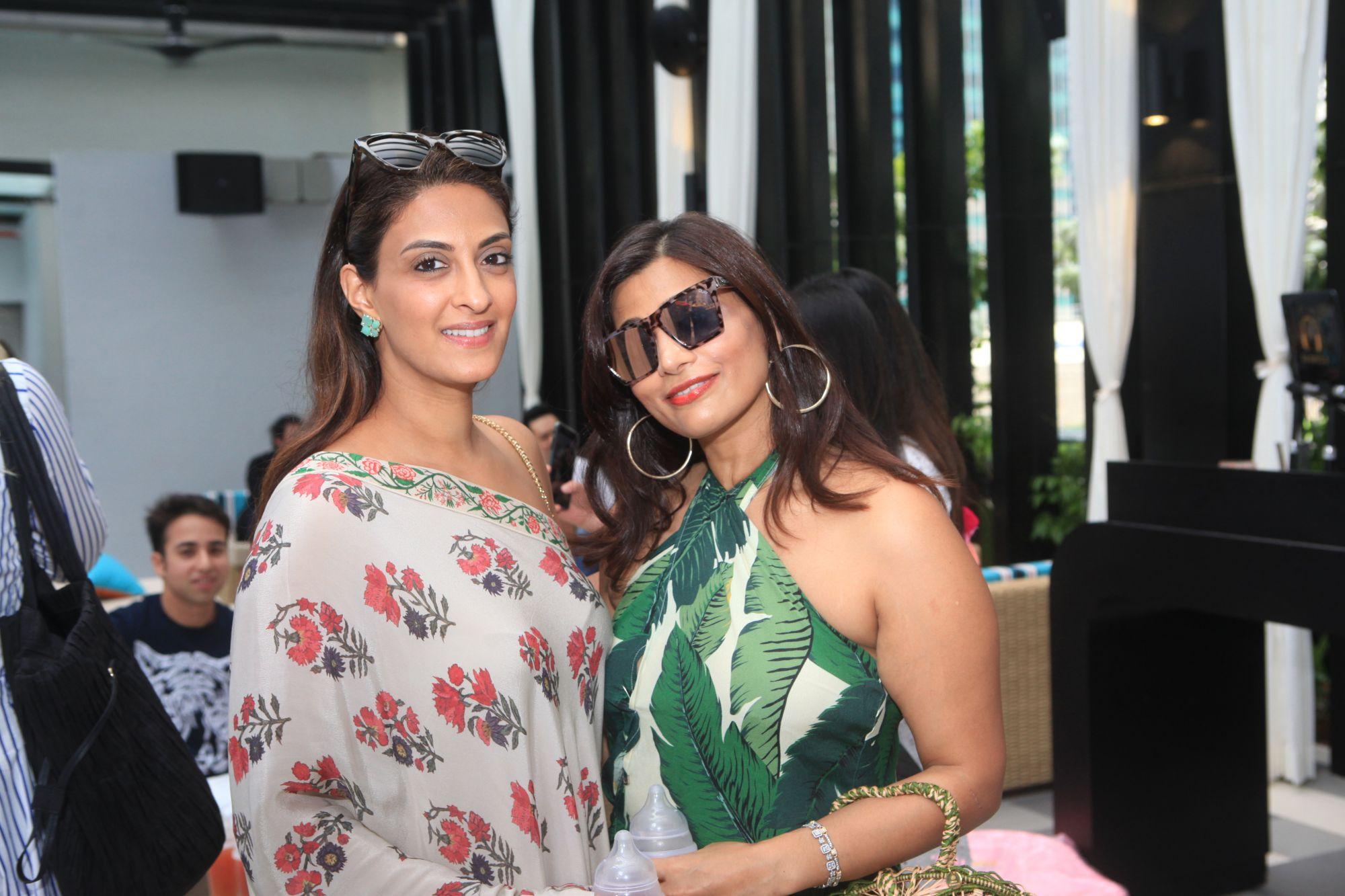 Shireena Shroff Manchharam, Seema Bhojwani