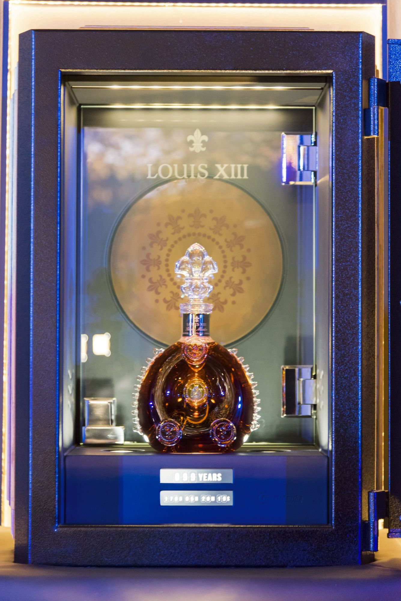 The one-of-a-kind clay record of Pharrell William's 100 Years - The Song We'll Only Hear If We Care for Louis XIII, which will only premiere in 2117