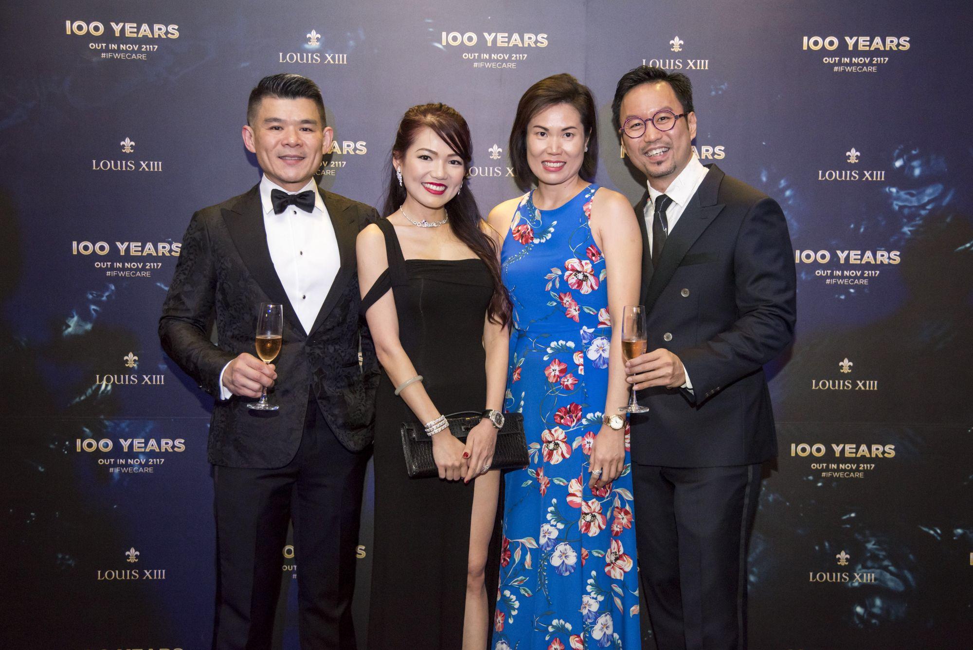 Andrew Teo, Angela Ng, Rachel Ho, Roger Chng