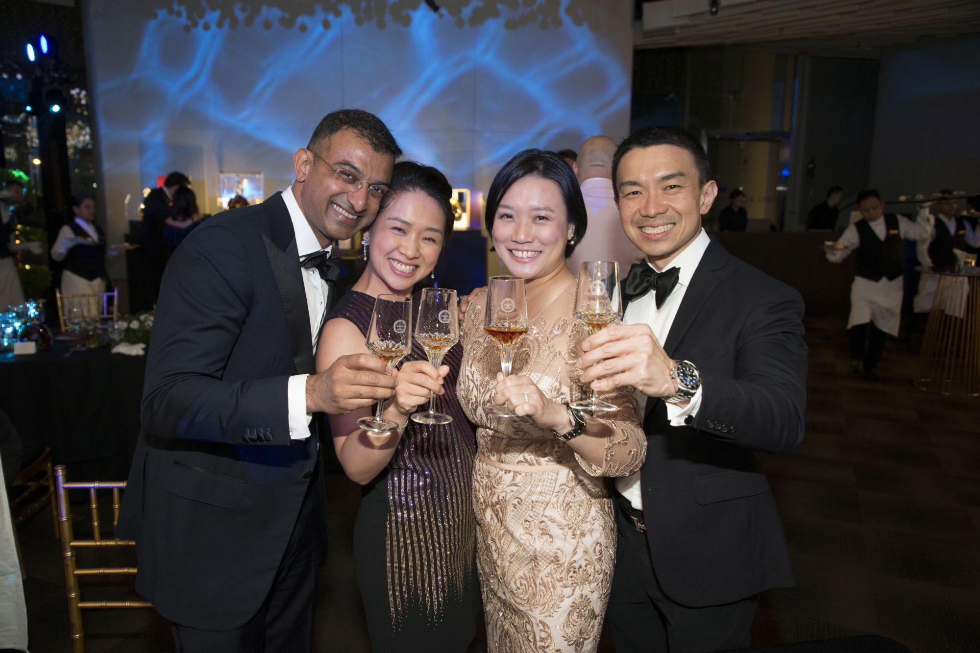 Ganesh Ramalingam, Lisa Gwee, Wendy Fun, Roland Chong