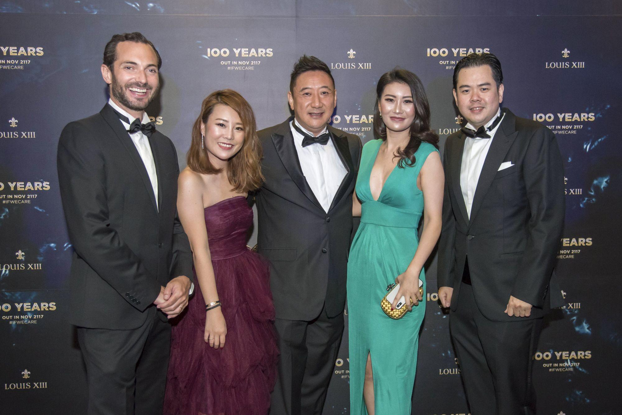 Morgan de Prémorel, Ivy Zhang, Lim Thian Hu, Zhang Keke, Jeremy Seow