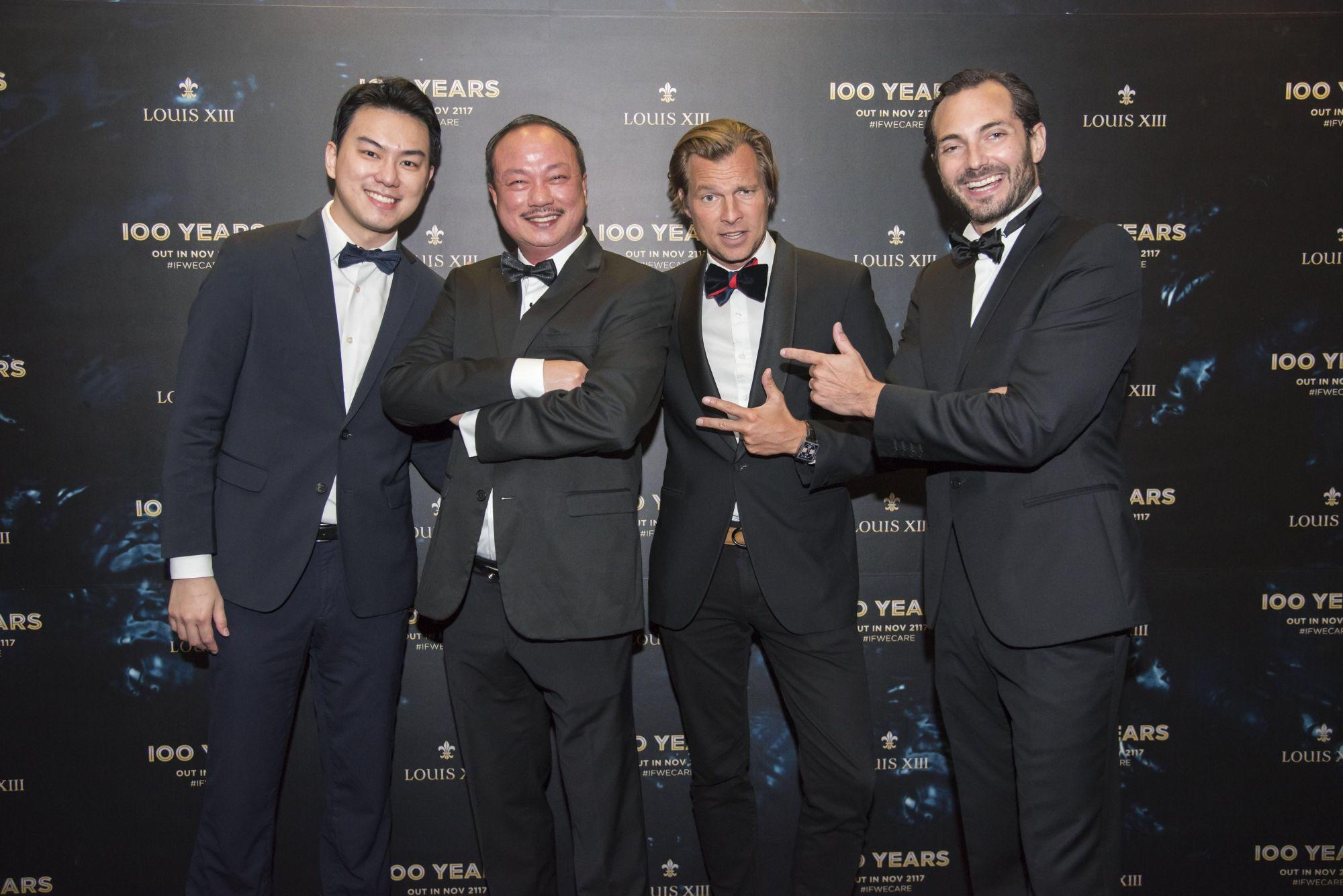 Nigel Lim, Lim Hock Leng, Ludovic du Plessis, Morgan de Prémorel