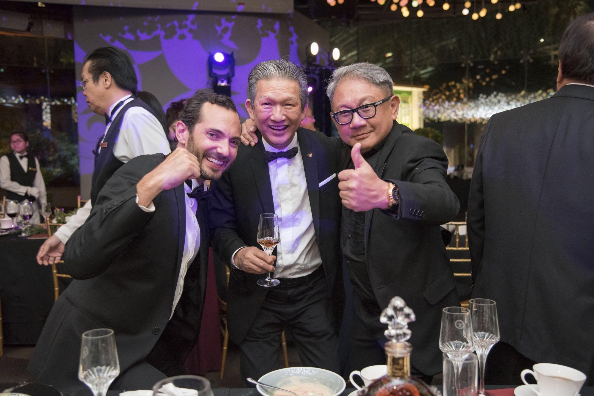 Morgan de Prémorel, Tony Ang, Mark Poh
