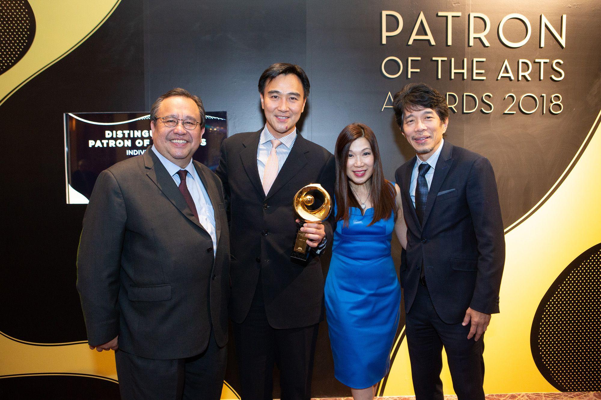 Jeremy Monteiro, Albert Chiu, Susan Peh, Edmund Lam