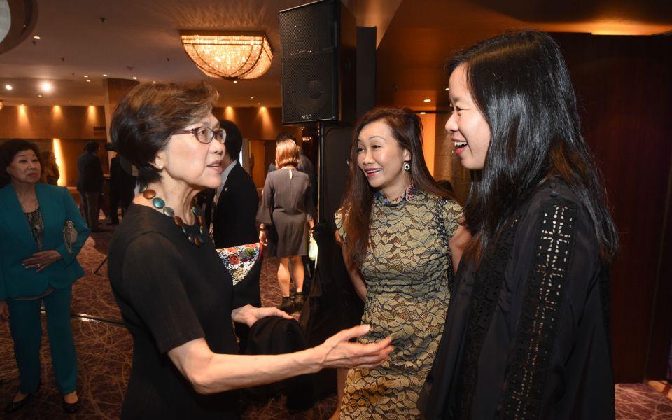 Chan Heng Chee, Trina Liang-Lin, Koh Lin-Net