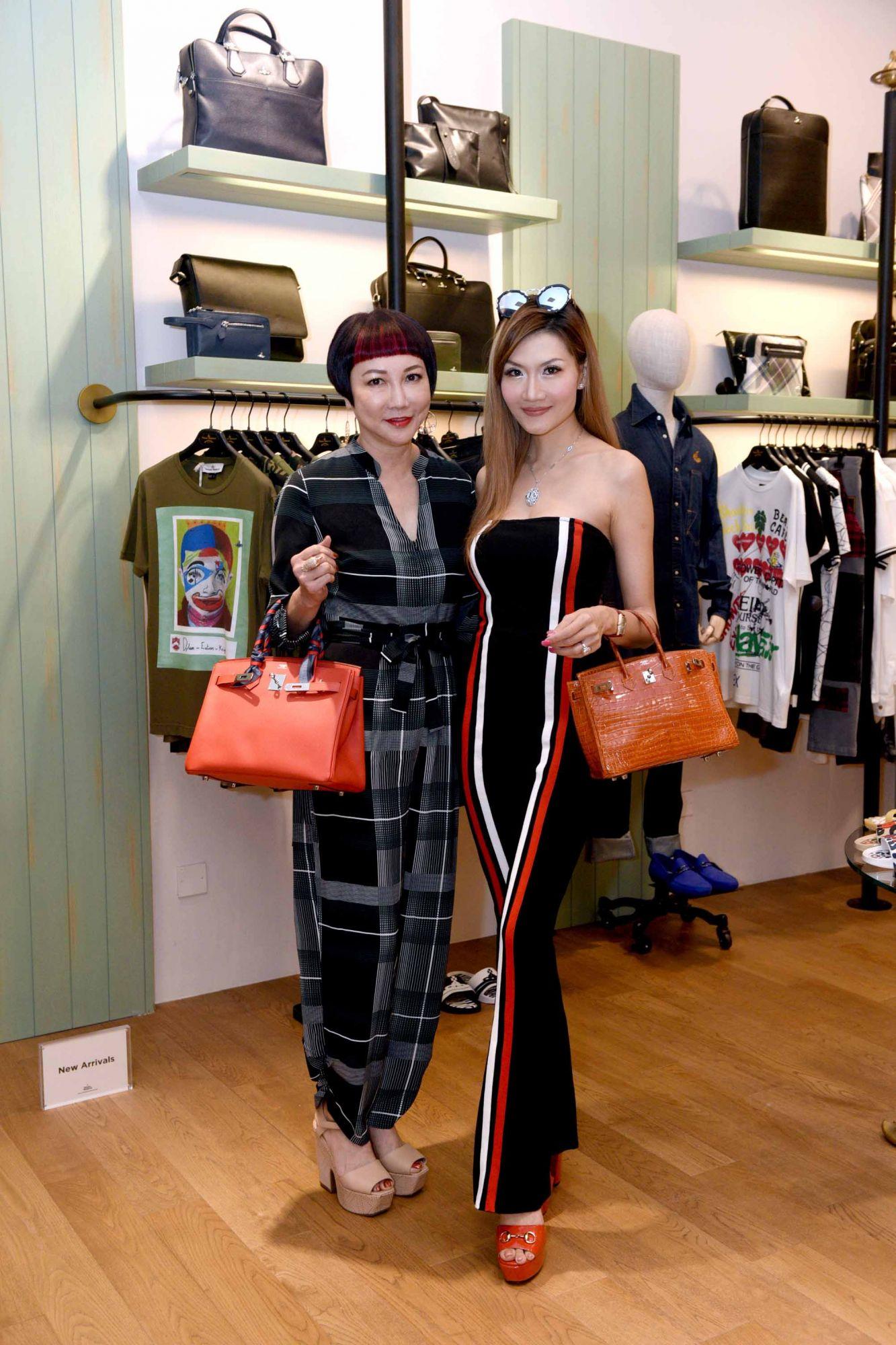 Frances Low, Lisa Huang