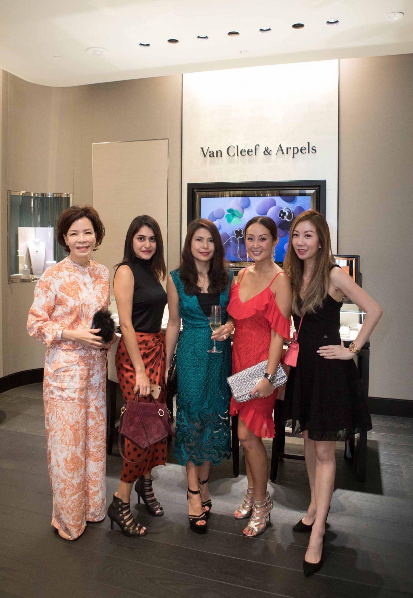 Grace Wong, Karishma Tulsidas, Marilyn Lum, Serene Chua, Alicia Loke