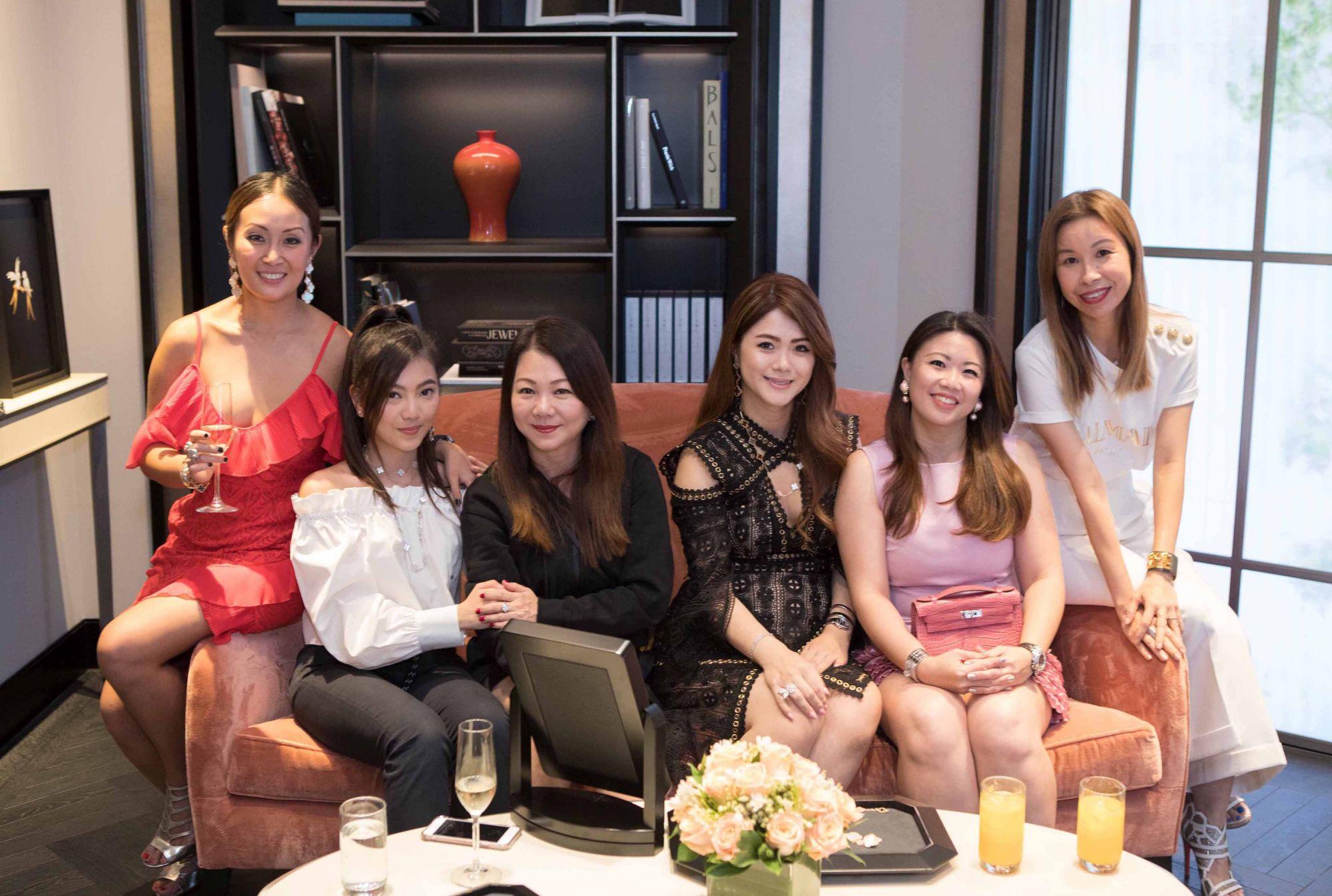 Serene Chua, Adeline Teo, Angela Ng, Chermaine Pang, Siow Yin Yin, Stephanie Tay
