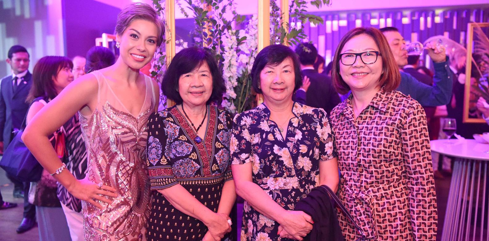 Nikki Muller, Lee Yok Leng, Lee Yoke Ying Maureen, Virginia Yow