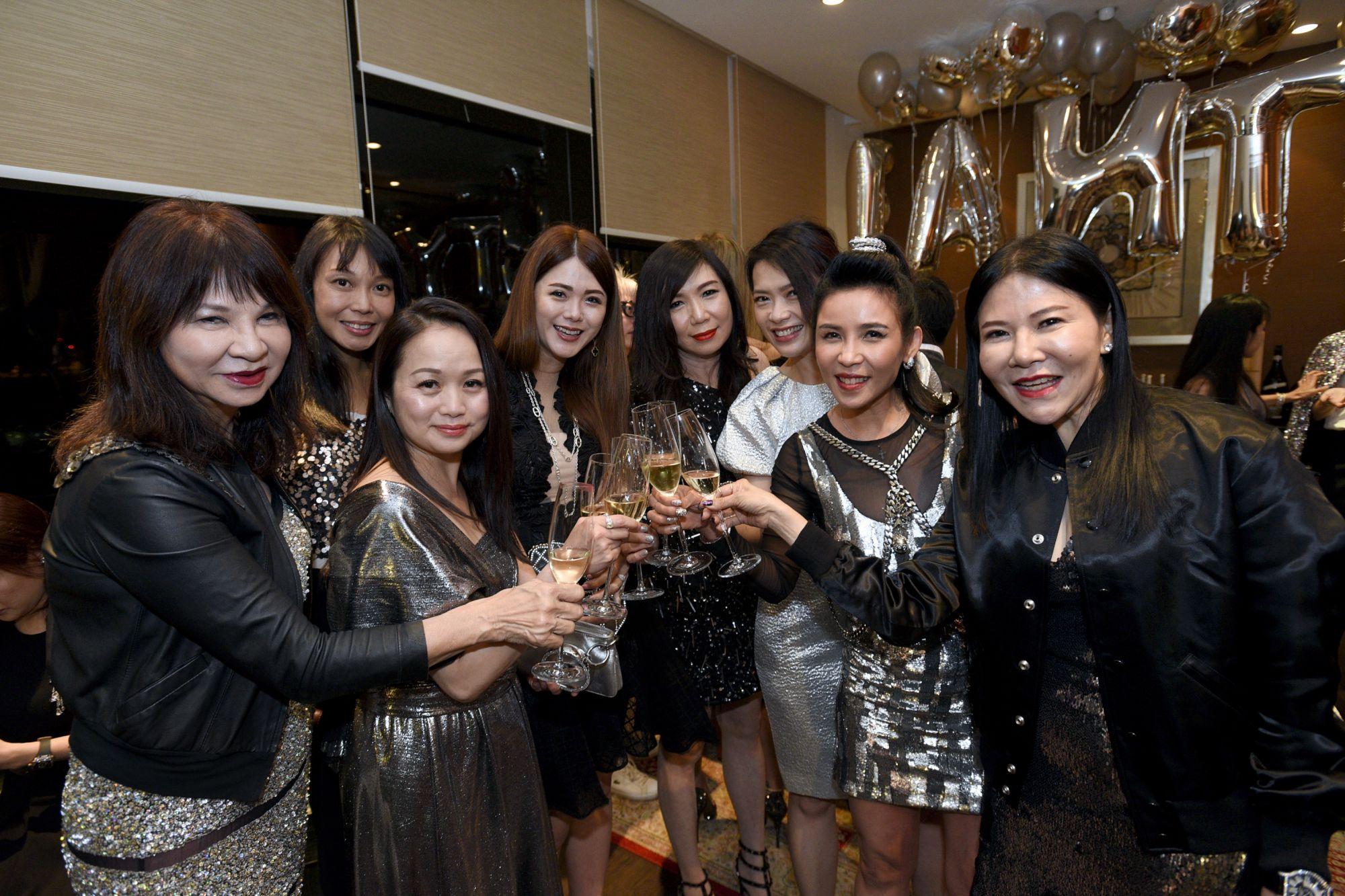 Violet Yeo, Elizabeth Leong, Tonya Tan, Chermaine Pang, Sharon Heng, Ho Ching Lin, Fanty Soenardy, Jane Heng