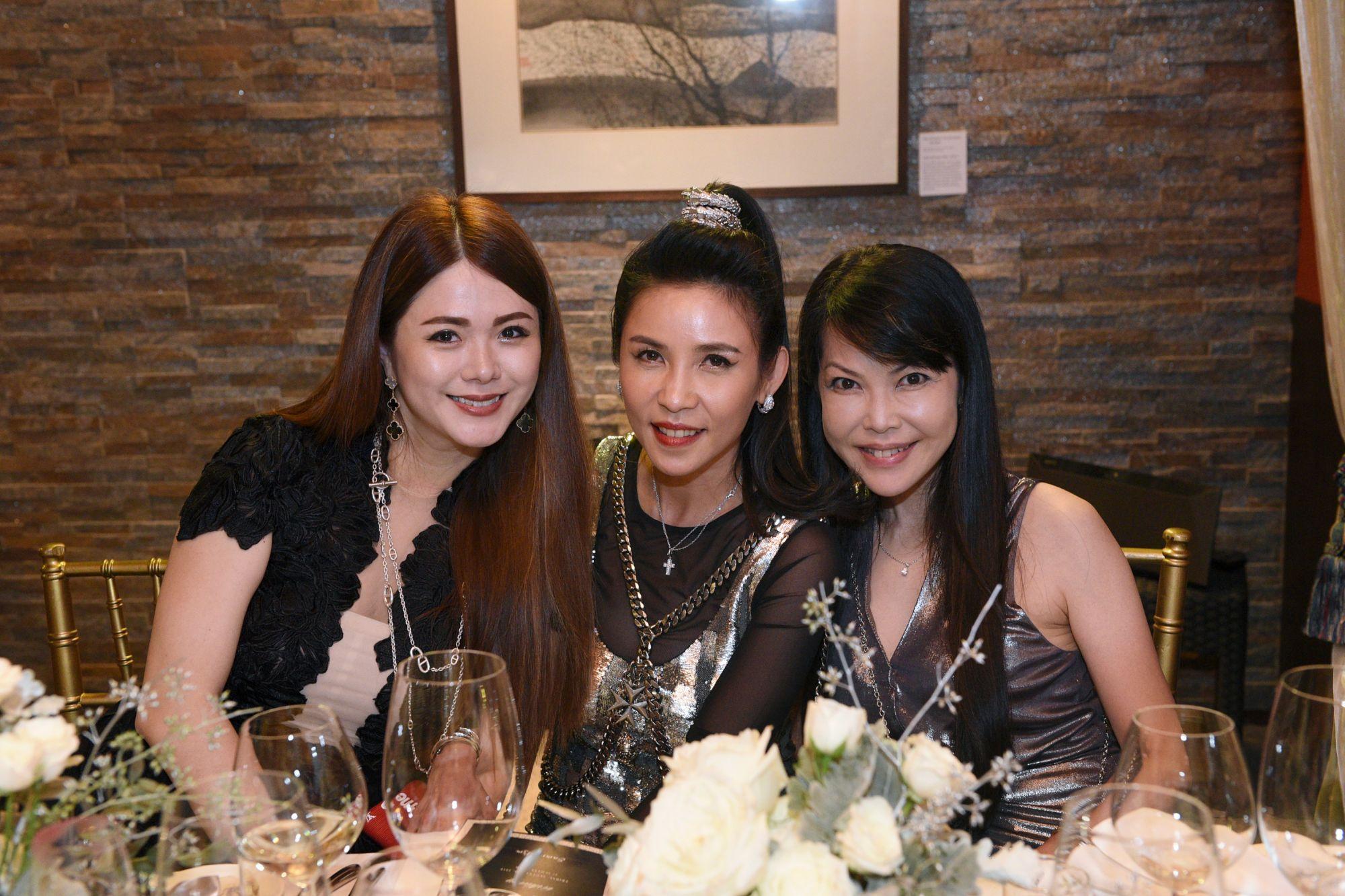 Chermaine Pang, Fanty Soenardy, Kyoko Abe