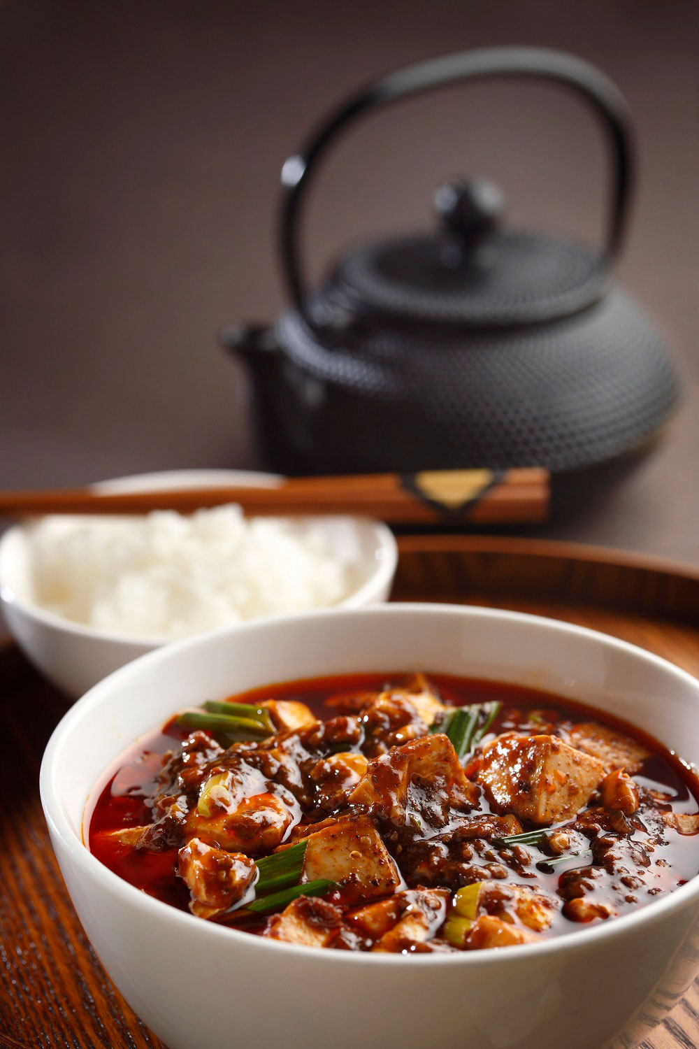 Chef Chen Kentaro' signature mapo tofu (Photo: Courtesy of Shisen Hanten)