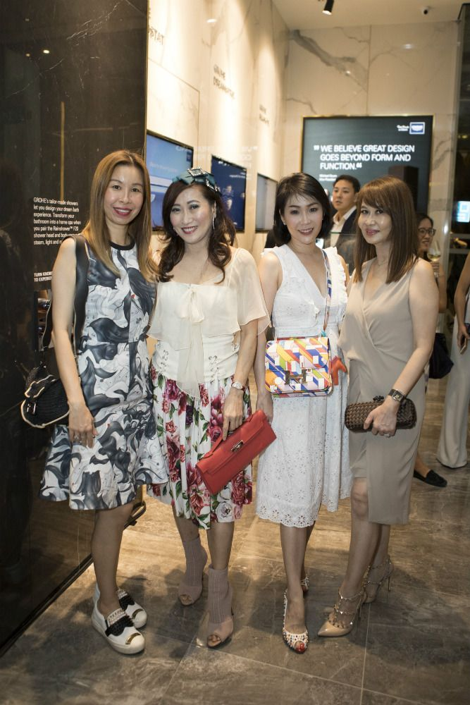 Stephanie Tay, Tan Khar Nai, Elaine Lim-Chan, Evelyn Sam