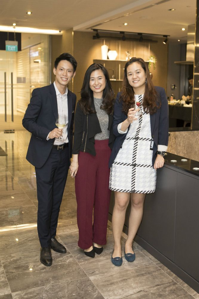 Ivan Choo, Juanita Stephanie, Ang Yu Tian