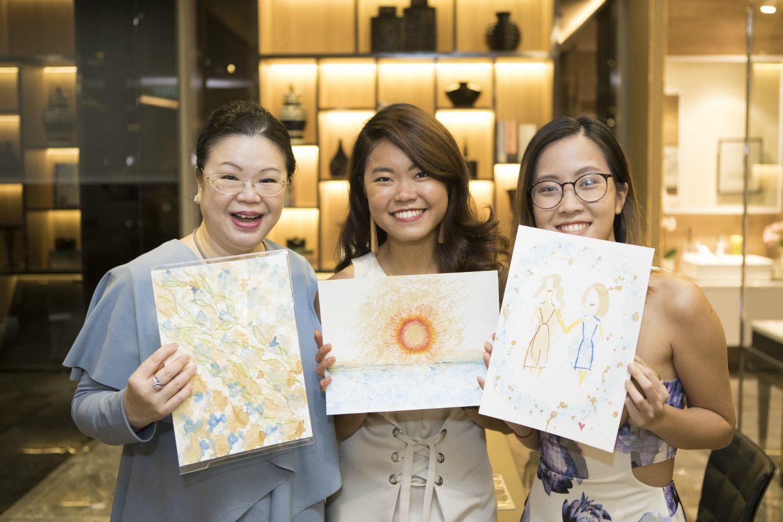 Lam Min Yee, Cheryl Cheong, Patricia Cheong