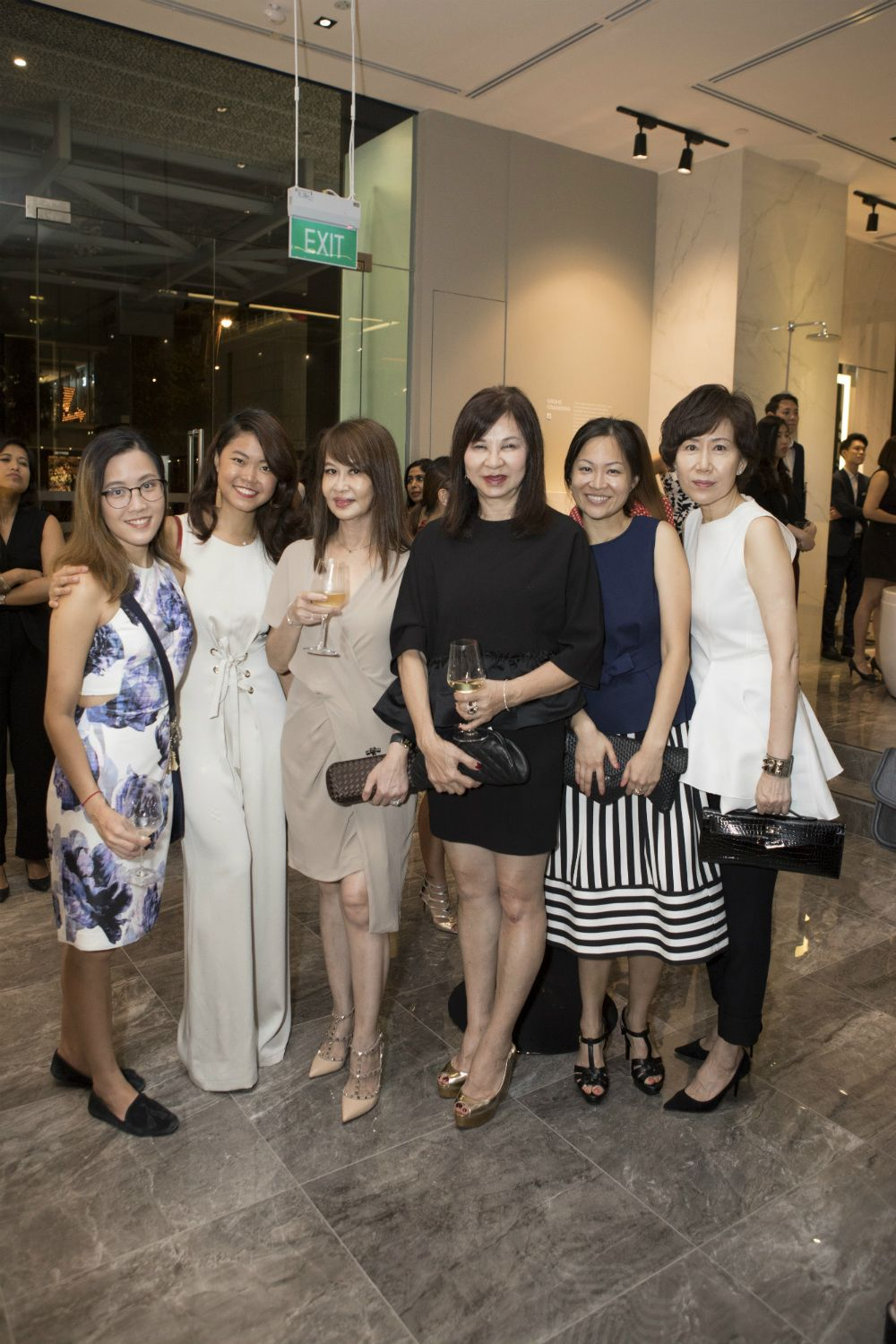 Patricia Cheong, Cheryl Cheong, Evelyn Sam, Violet Yeo, Sonia Ong, Nancy Ong