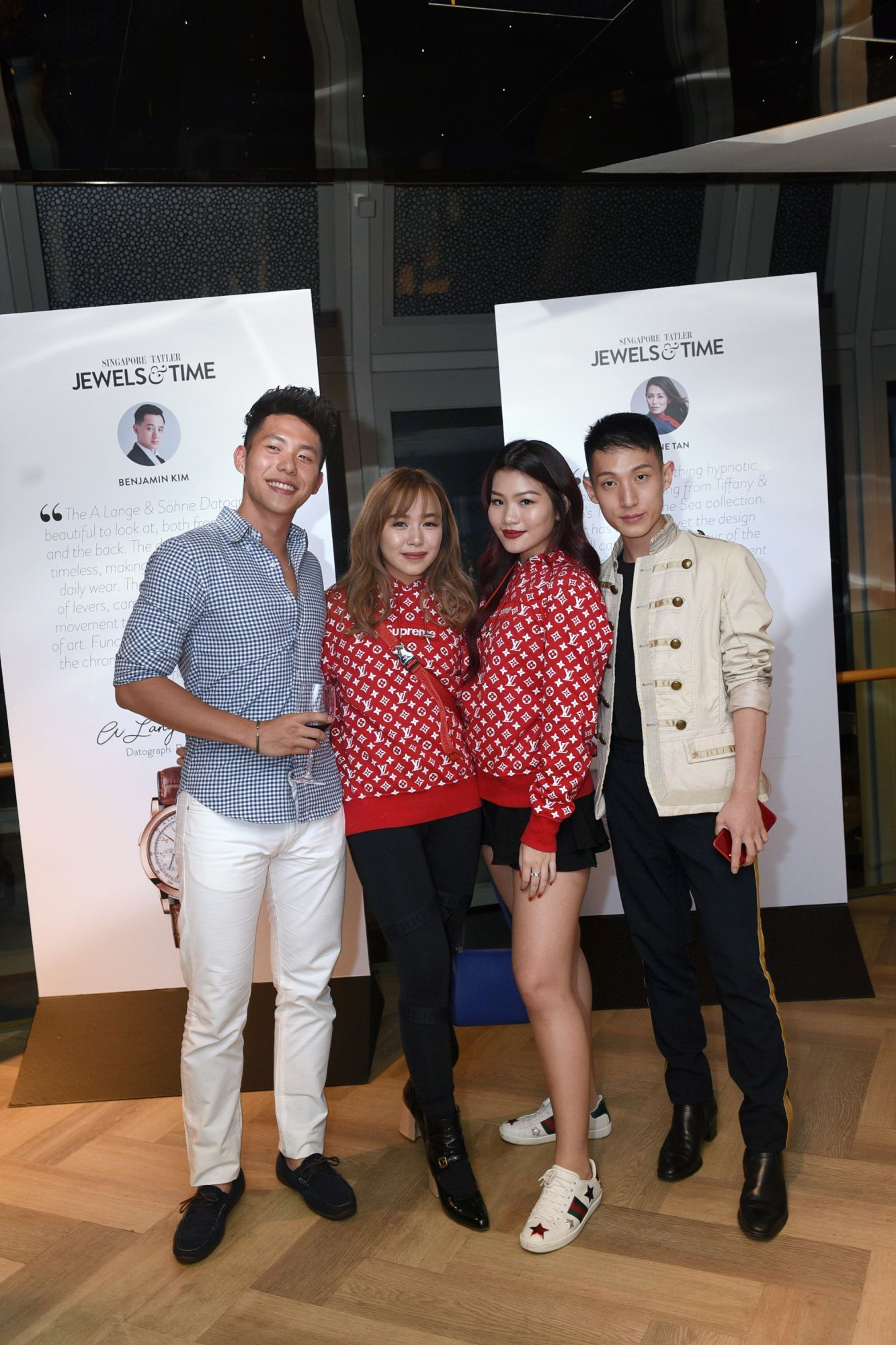 Nick Huang, Chloe Ng, Adeline Teo, Dyon Foo