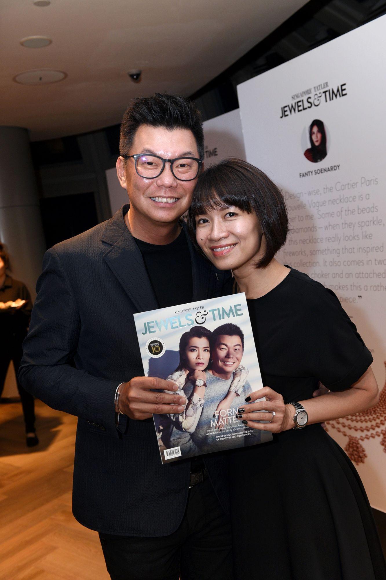 Alfred Chua, Annie Seow