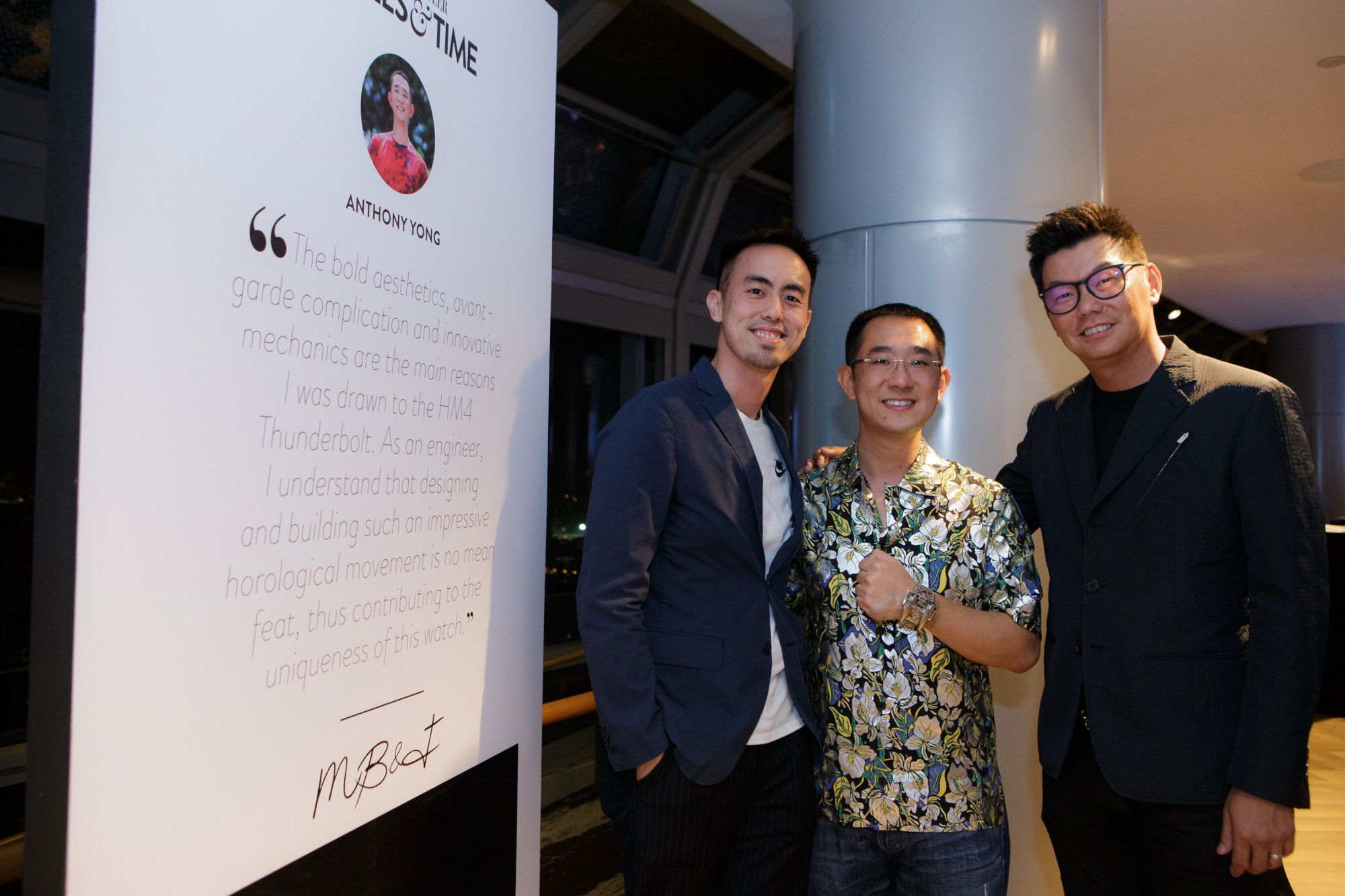 Terence Lim, Anthony Yong, Alfred Chua