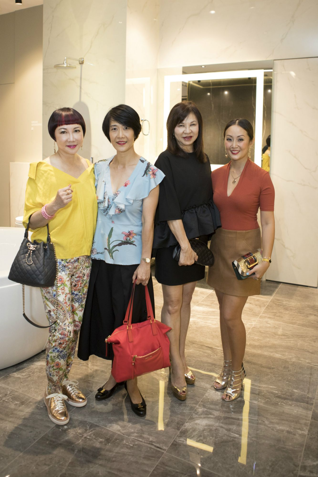 Frances Low, Christina Lim, Violet Yeo, Serene Chua