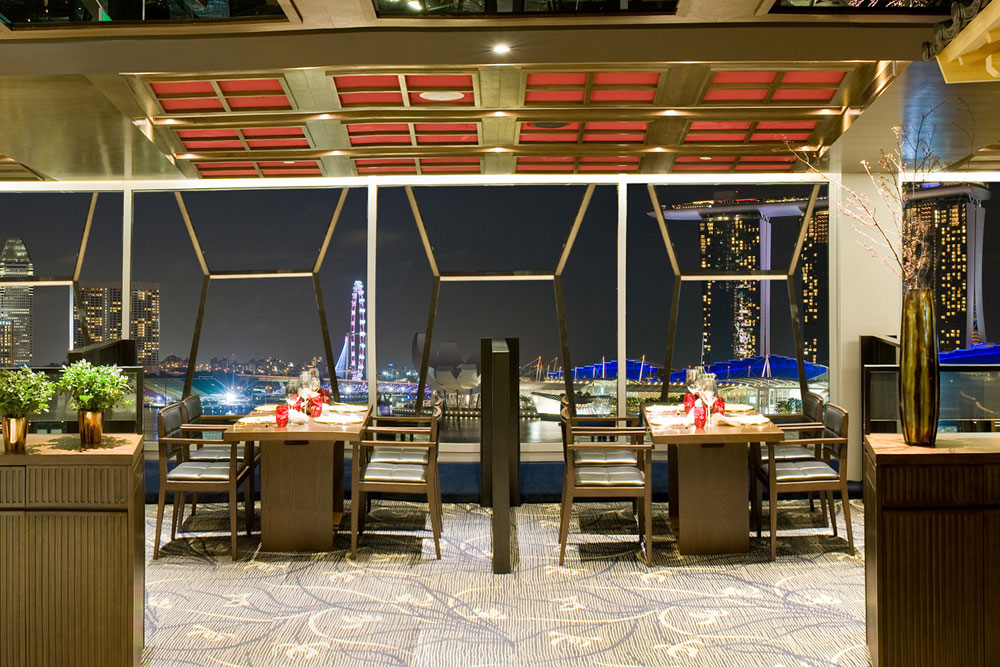 View from Tong Le Private Dining (Photo: Courtesy of Tong Le Private Dining)