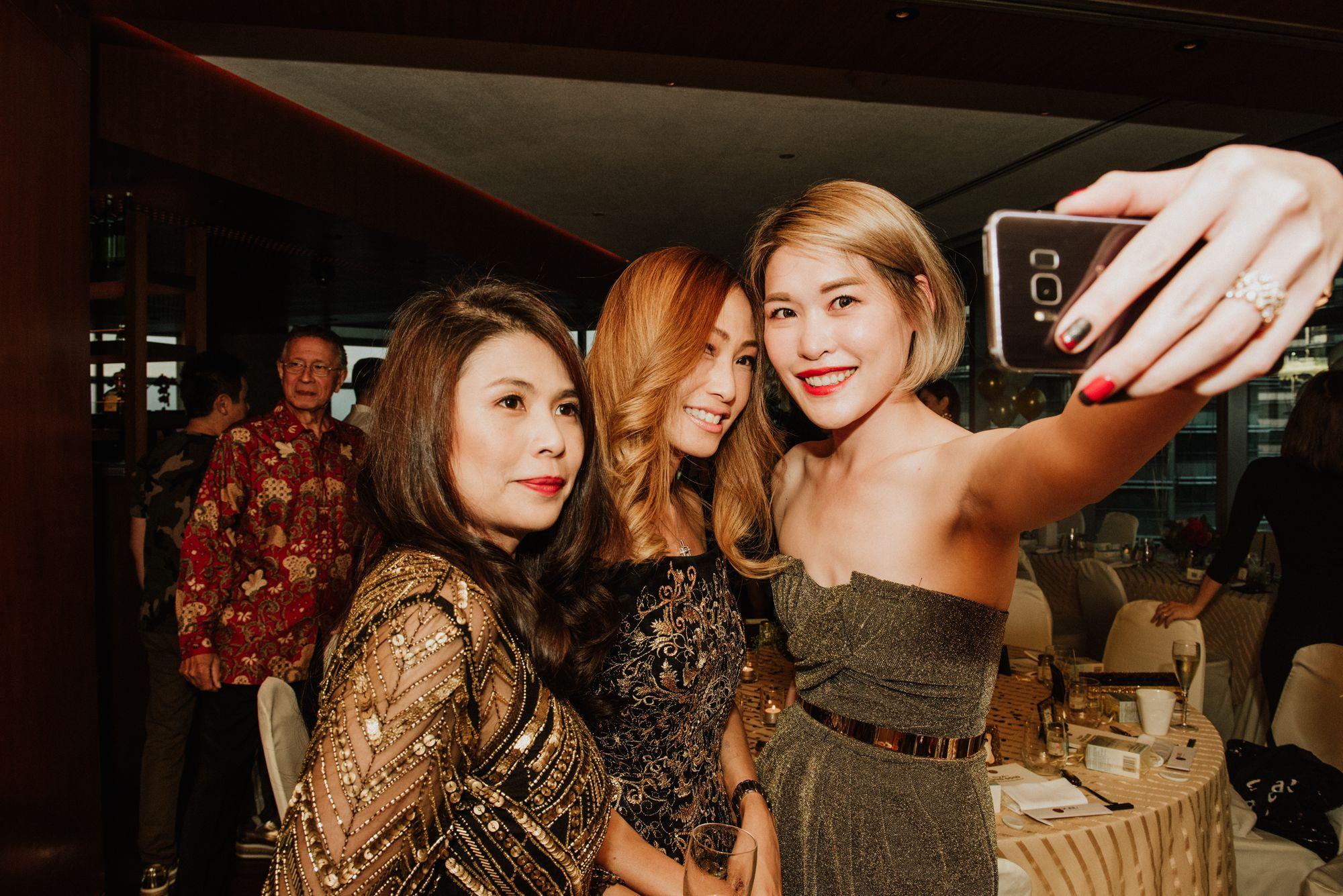 Marilyn Lum, Tan Min-Li, Michelle Eng