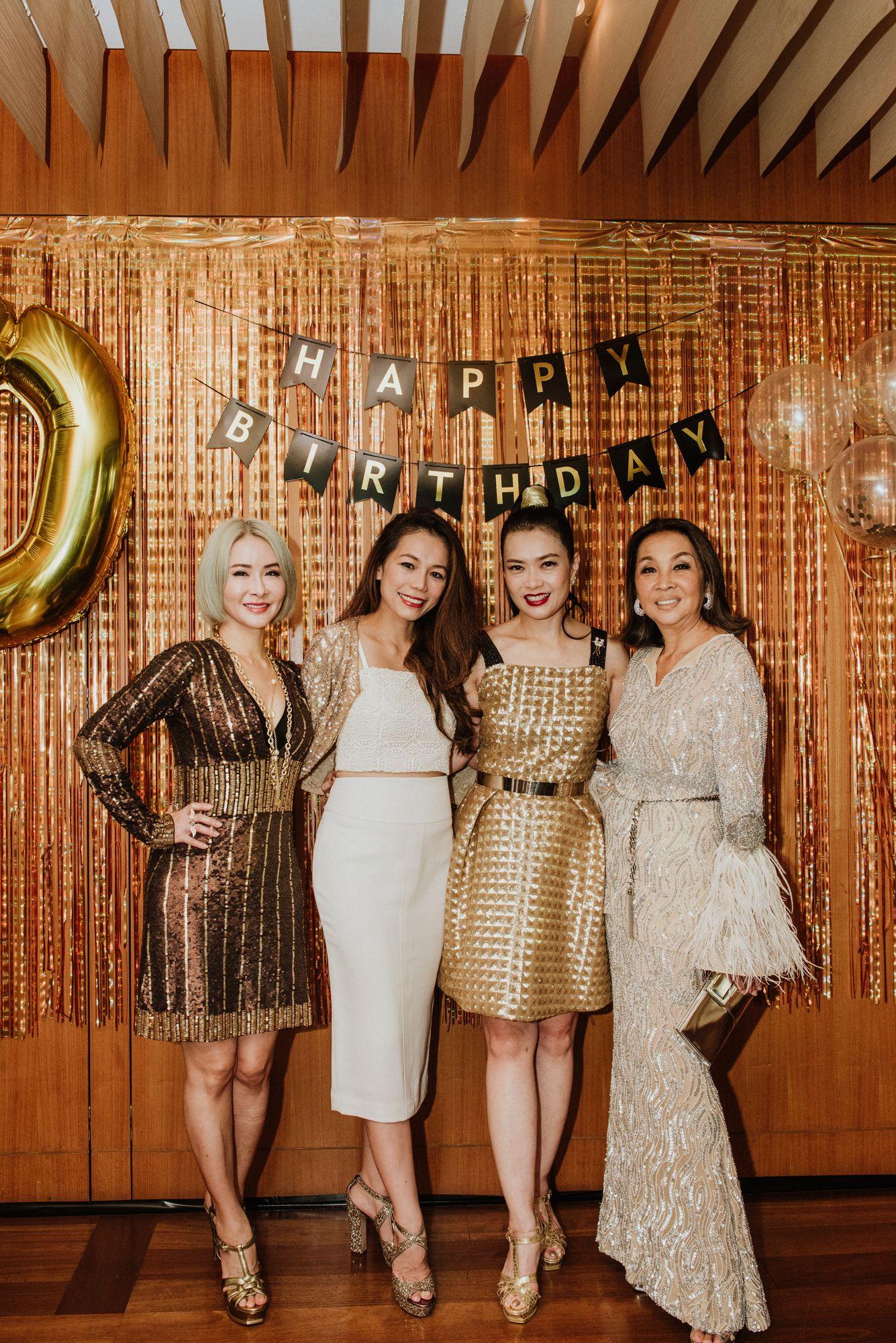 Celina Lin, Ginny Wiluan, Ho Ching Lin, Farah Khan
