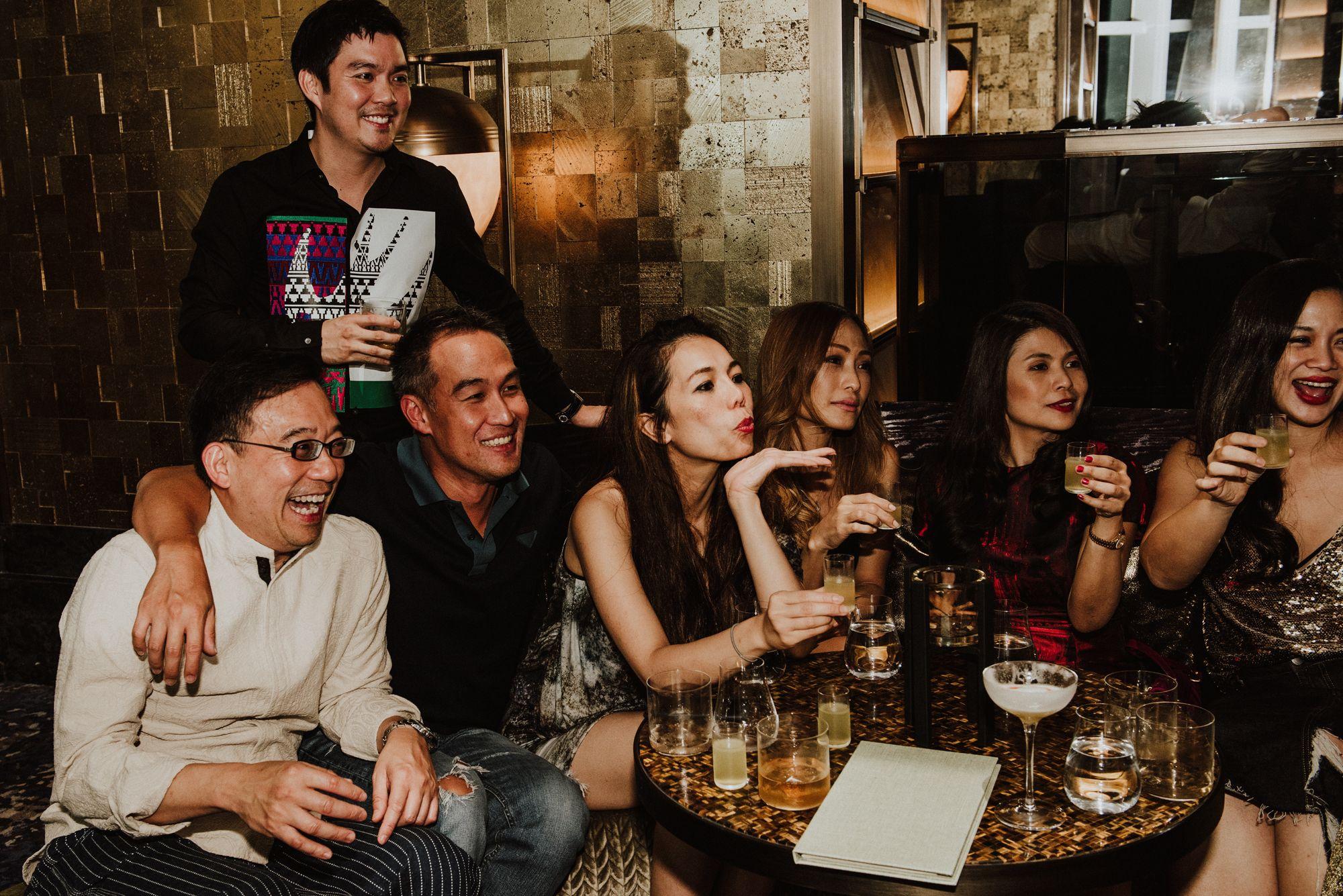 Koh Tien Gui, Shaun Tay, John Lim, Ginny Wiluan, Tan Min-Li, Marilyn Lum, Tjin Lee