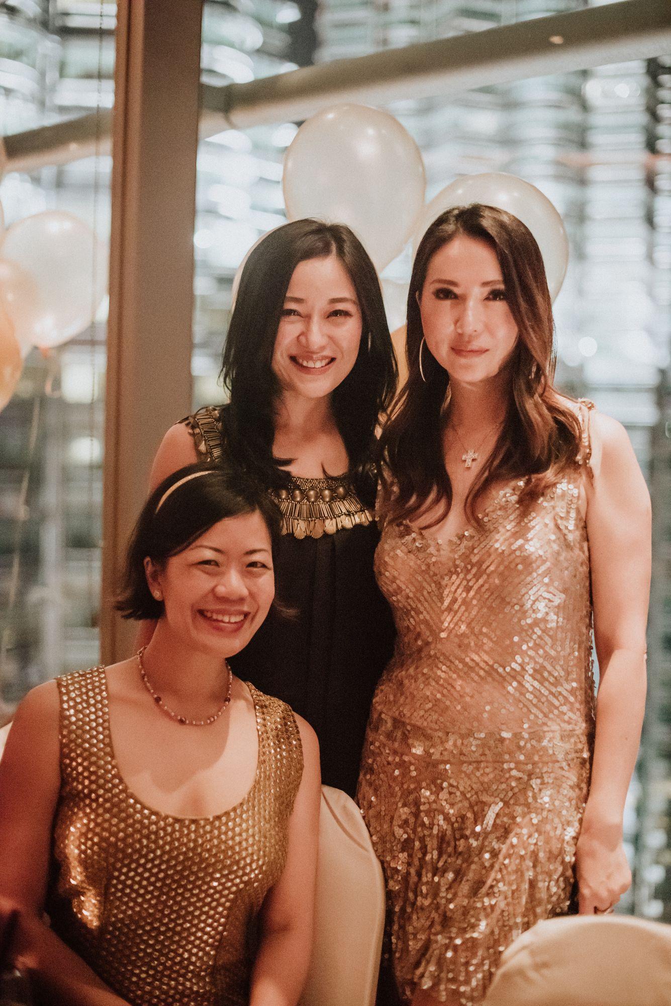 Jade Kua, Nina Ng, Louise Hsiao