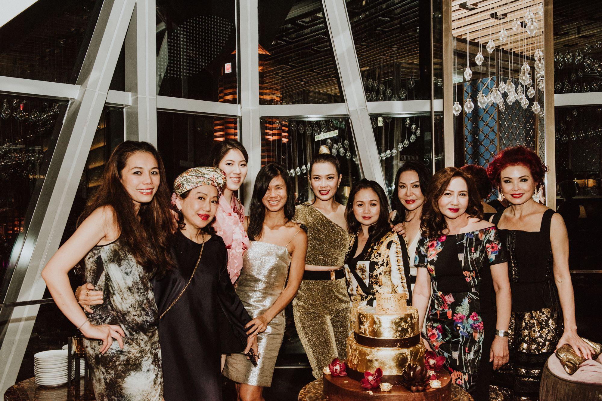 Ginny Wiluan, Jane Soon, Zeena Tan, Clara Goh, Ho Ching Lin, Tonya LayTin Tan, Diana Widjaja, Maria See, Linda Soo-Tan