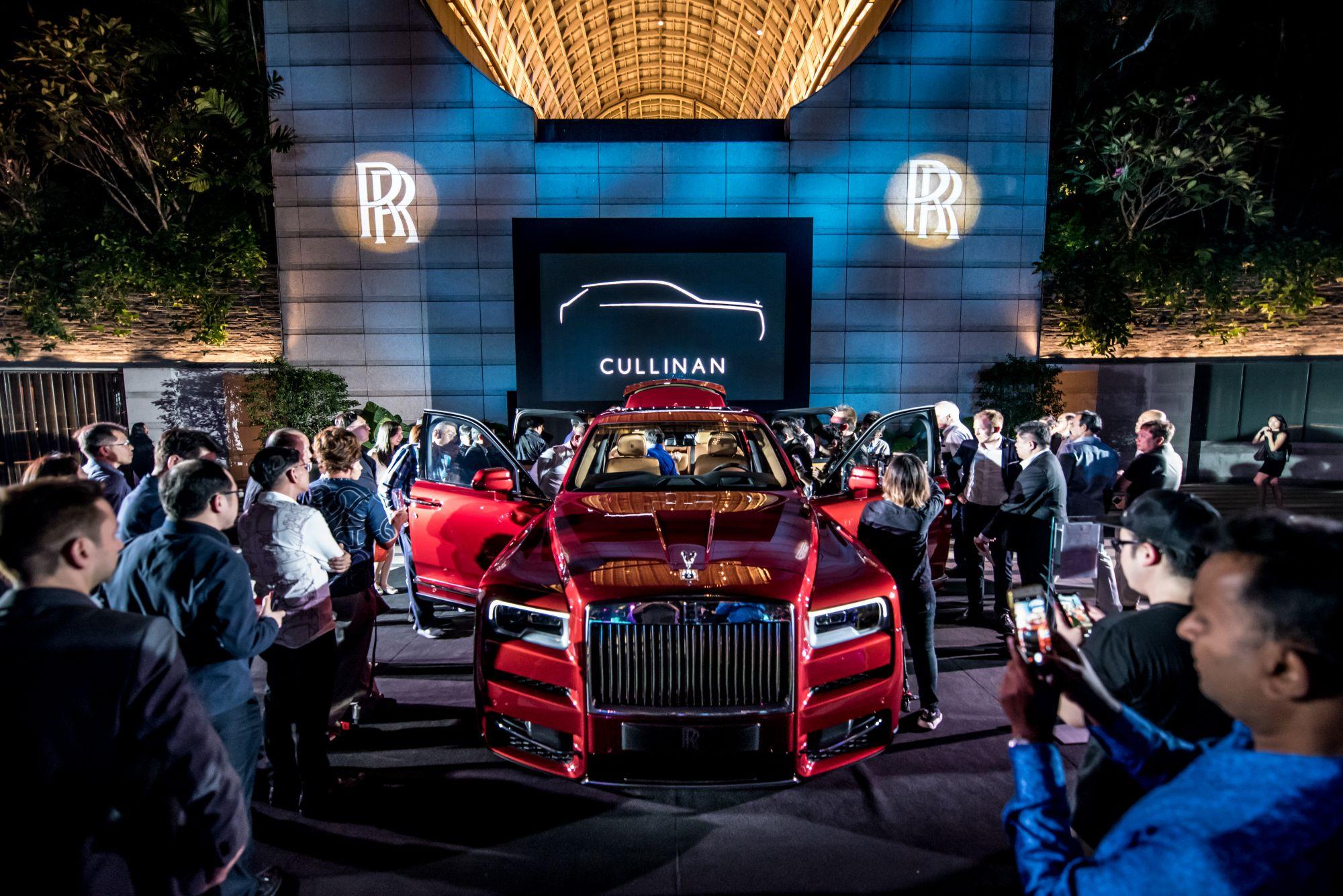 The Rolls-Royce Cullinan