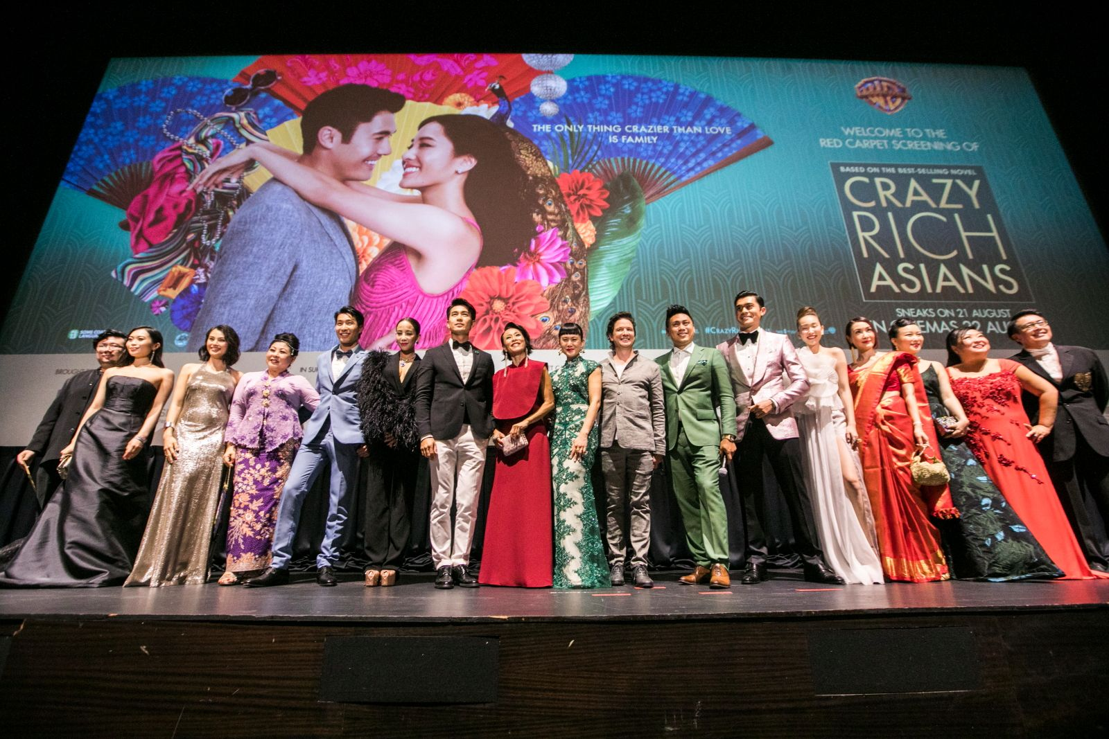 Cast of 'Crazy Rich Asians'