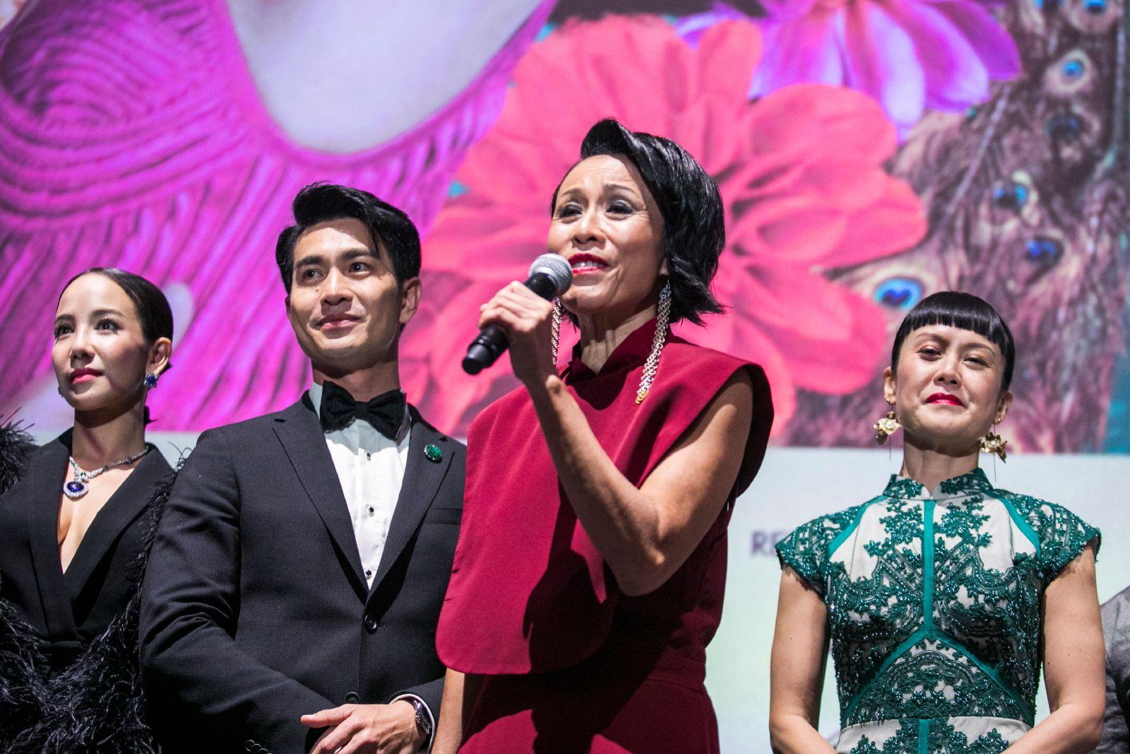 Fiona Xie, Pierre Png, Tan Kheng Hua, Janice Koh