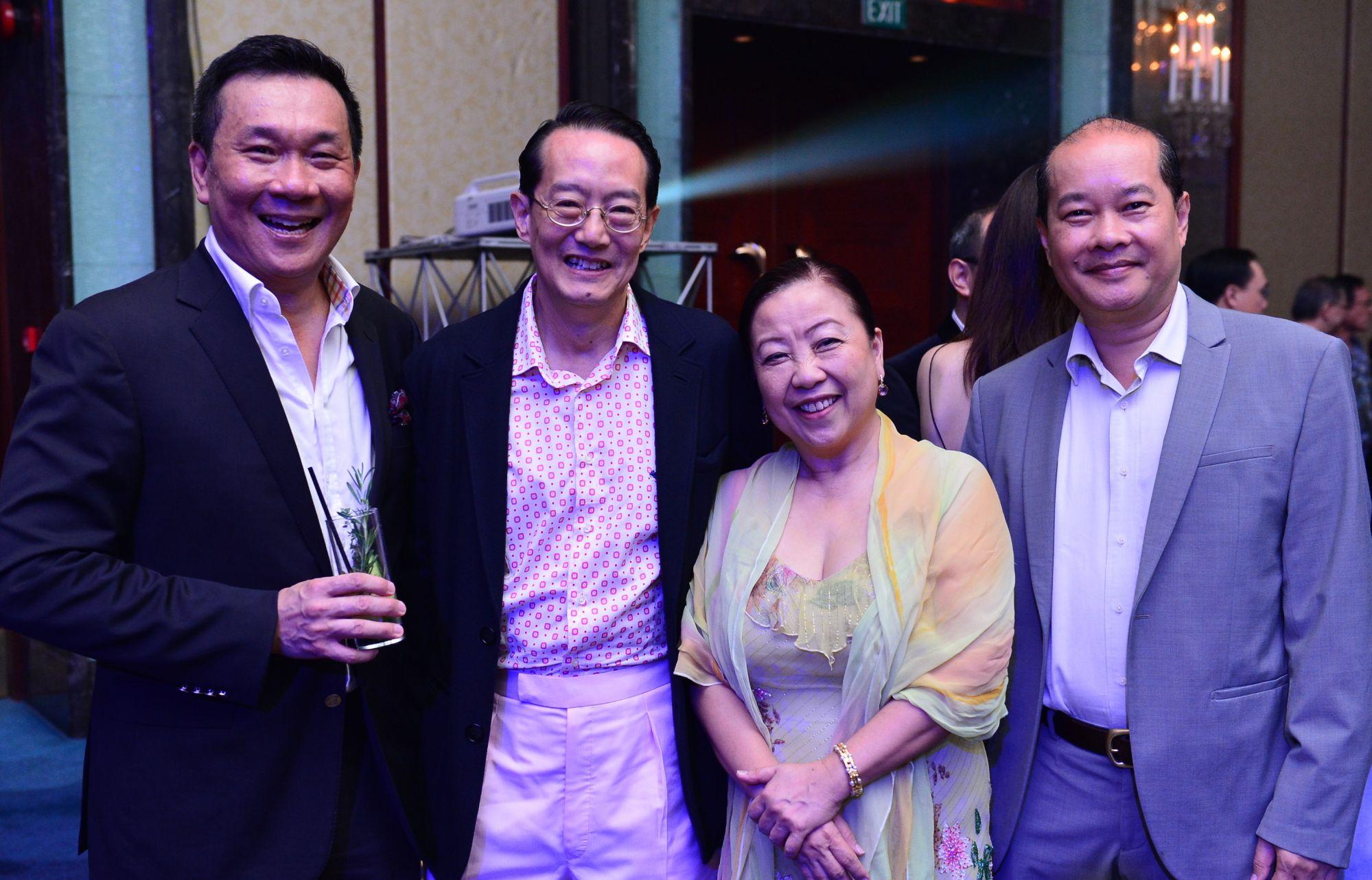 Ivor Lim, Woffles Wu, Lim Juay Woon, Phan Toan Thang