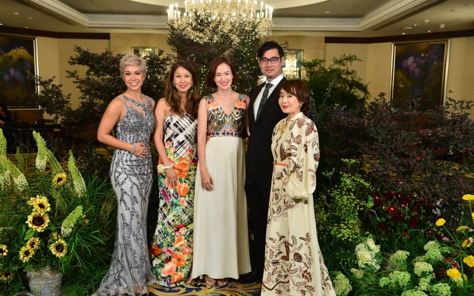 Nikki Muller, June Goh-Rin, Elly Lam, Johnny Lam, Joy Tan