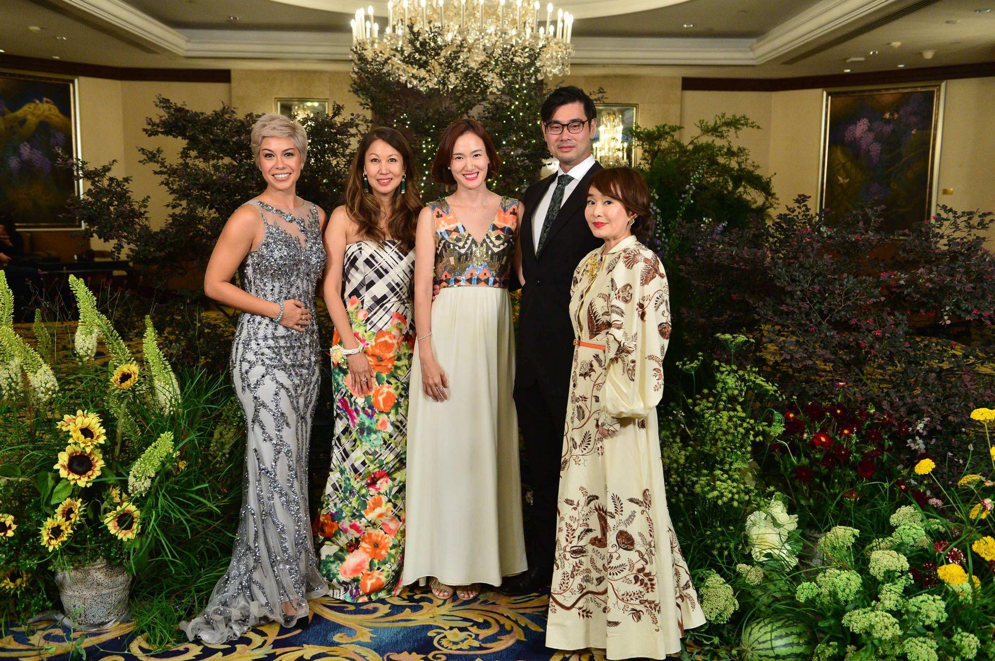Nikki Muller, June Goh-Rin, Elly Lam, Johnny Lam, Joy Tan