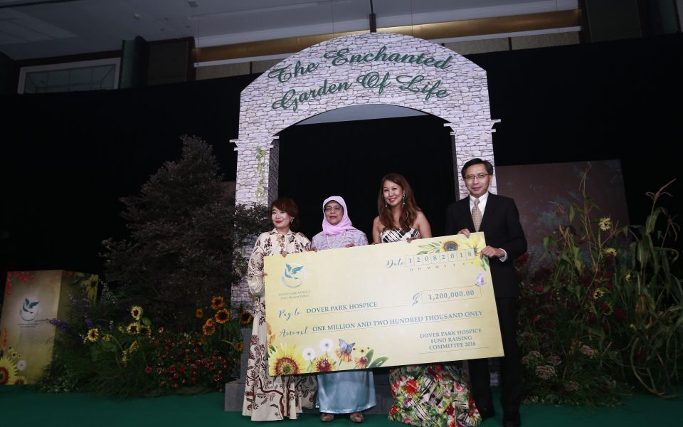 Joy Tan, Halimah Yacob, June Goh-Rin, Robert Chew