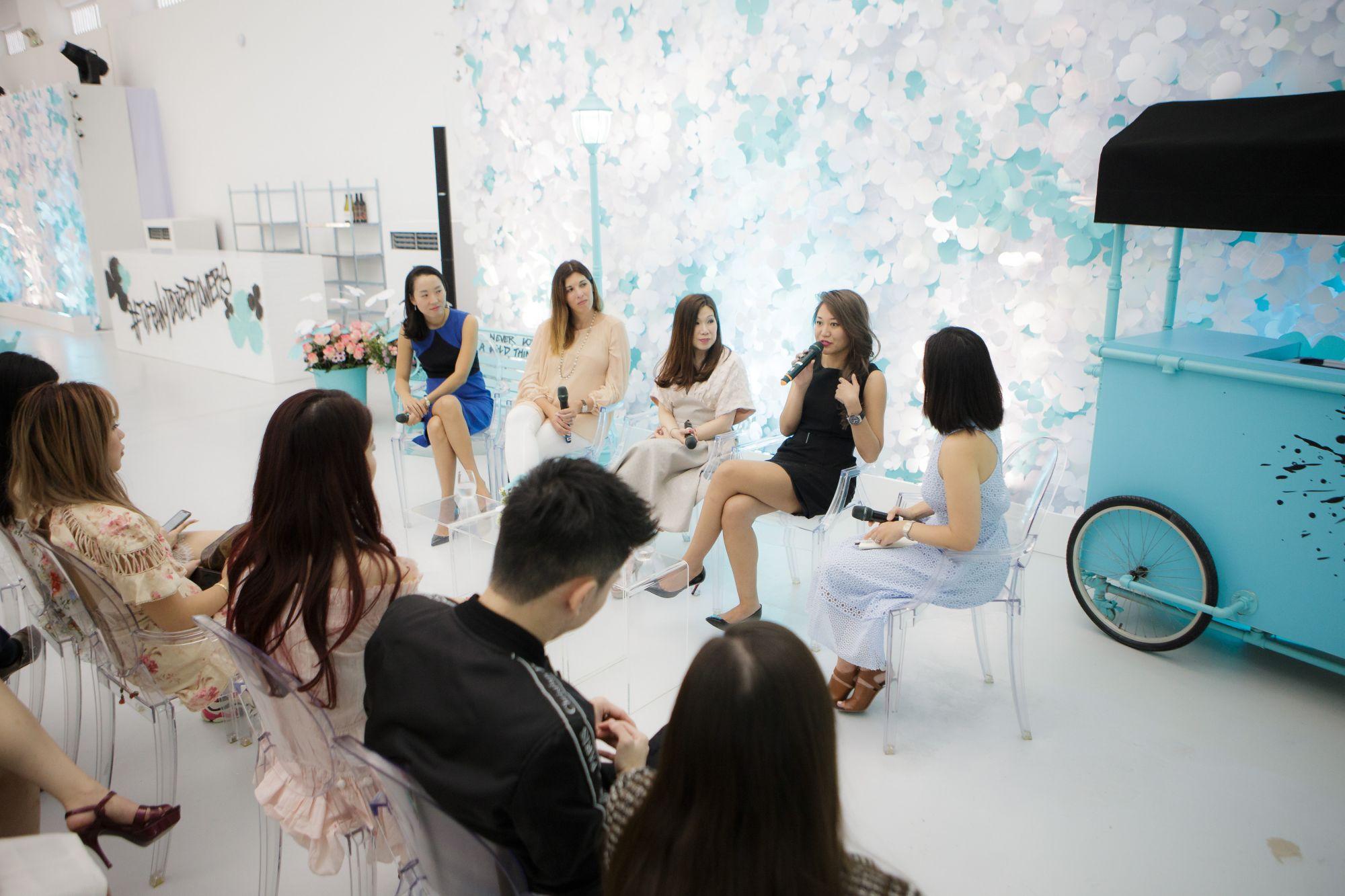 Juliana Chan, Sonja Prokopec, Susan Peh, Anna Haotanto, Kissa Castañeda