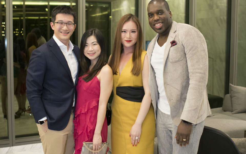 Alvin Soon, Melissa Peh, Sabrina Ho, Kevin Matthews