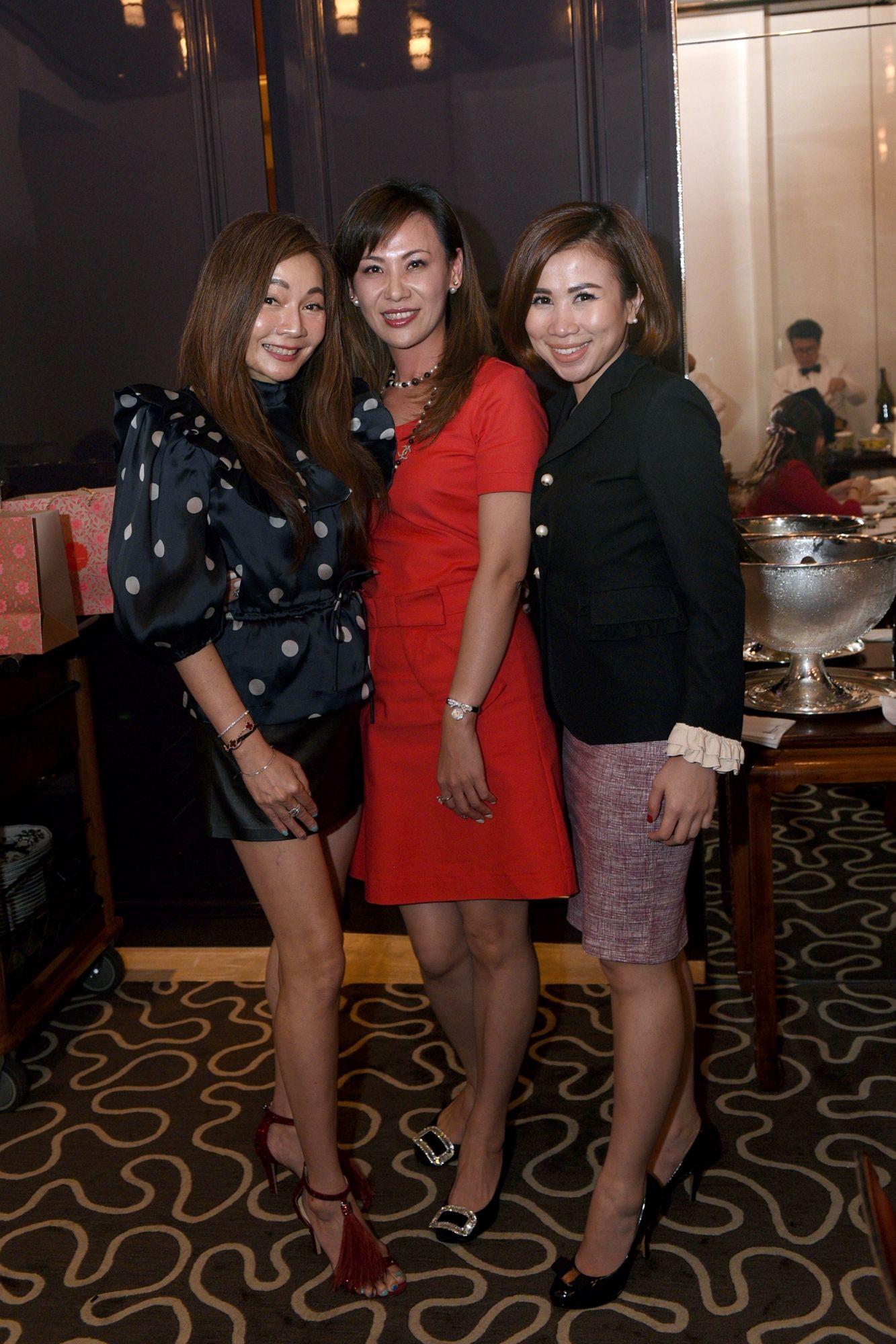 Stella Lee, Carol Shieh, Sammi Lim