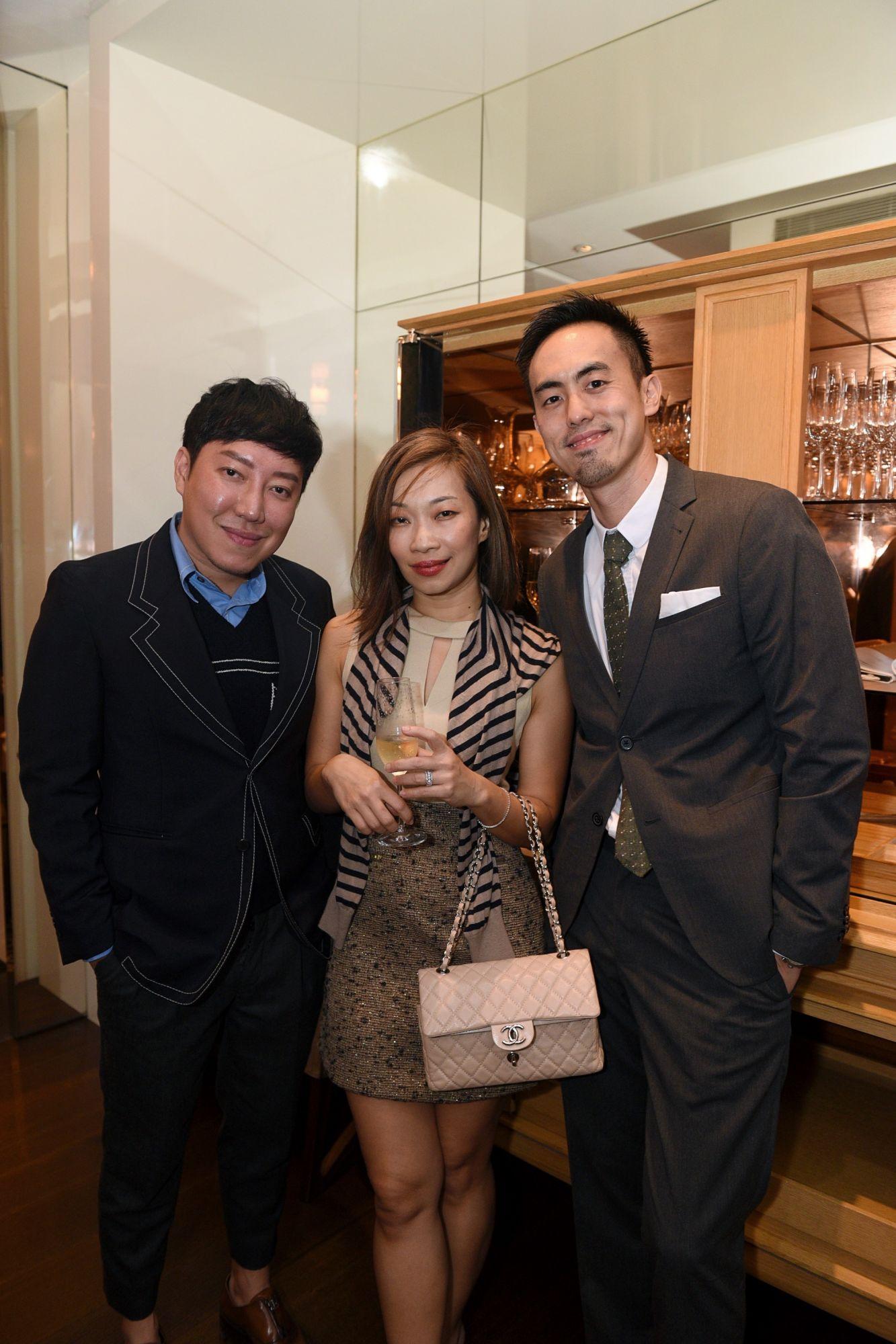 Desmond Lim, Corinne Ng, Terence Lim
