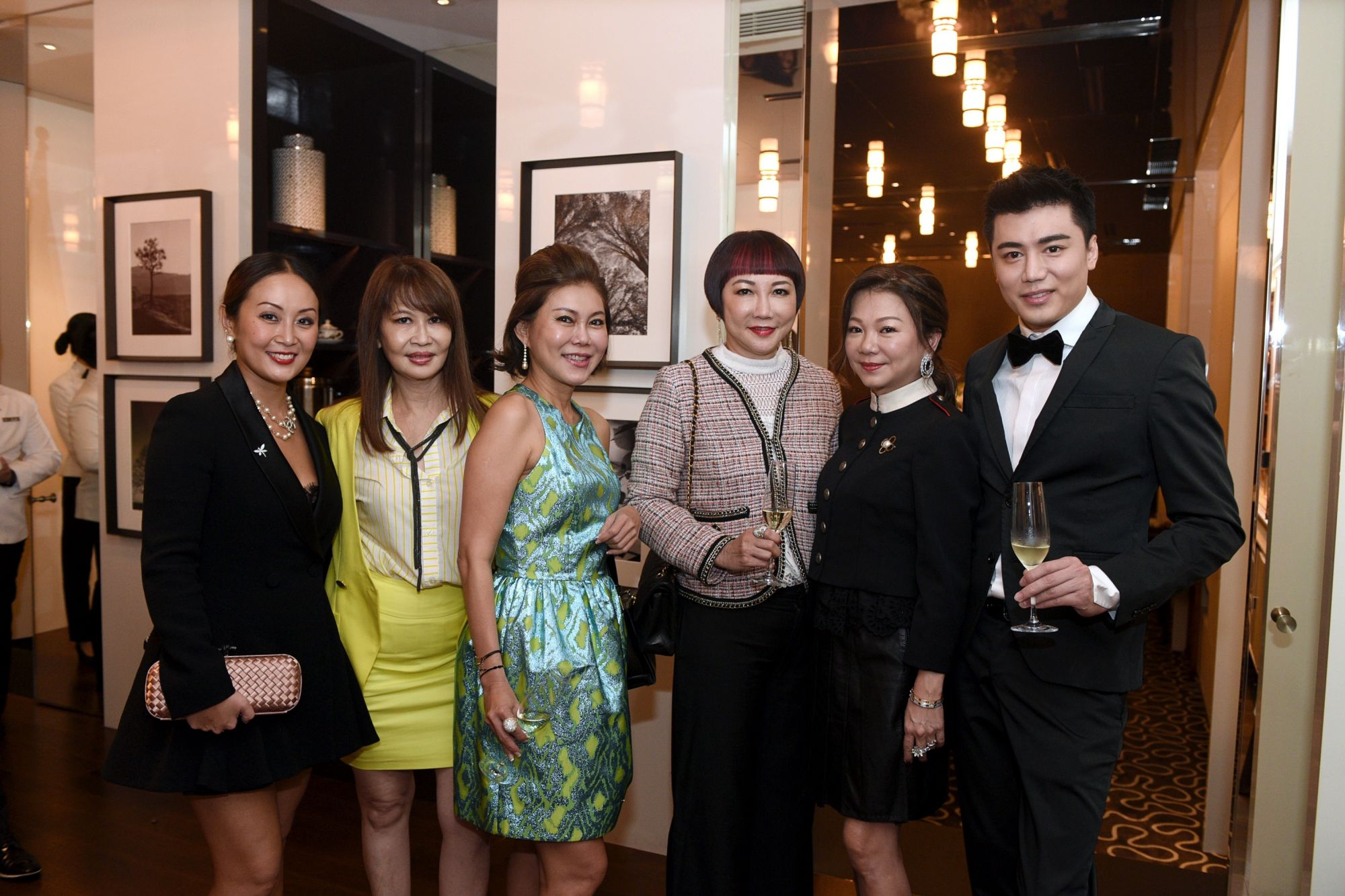 Serene Chua, Evelyn Sam, Sharon Lim, Frances Low, Angela Ng, Benjamin Khoh