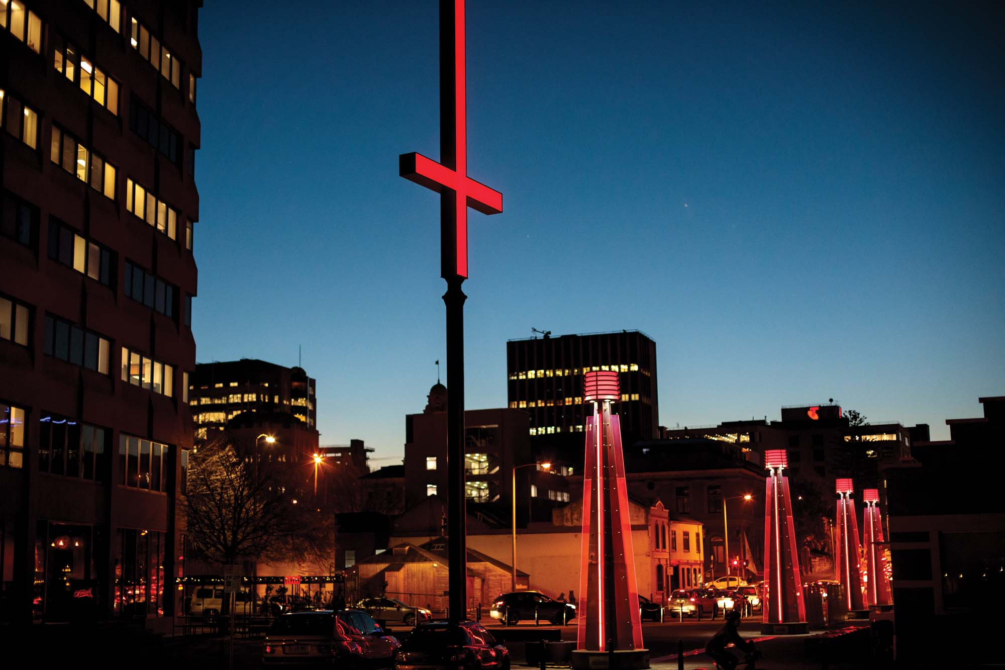 The entire city of Hobart comes alive with events and installations during Dark Mofo