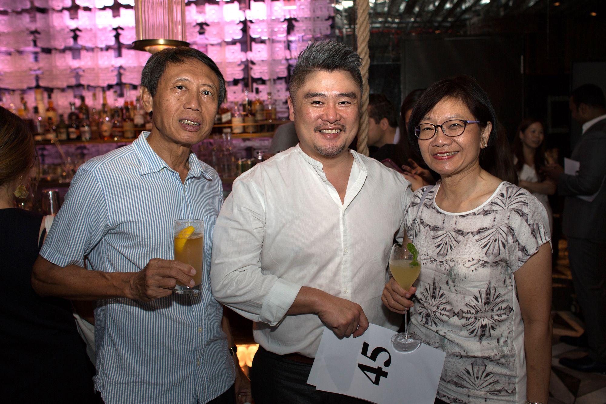 Robert Tan, Don Pek, Pauline Cheong