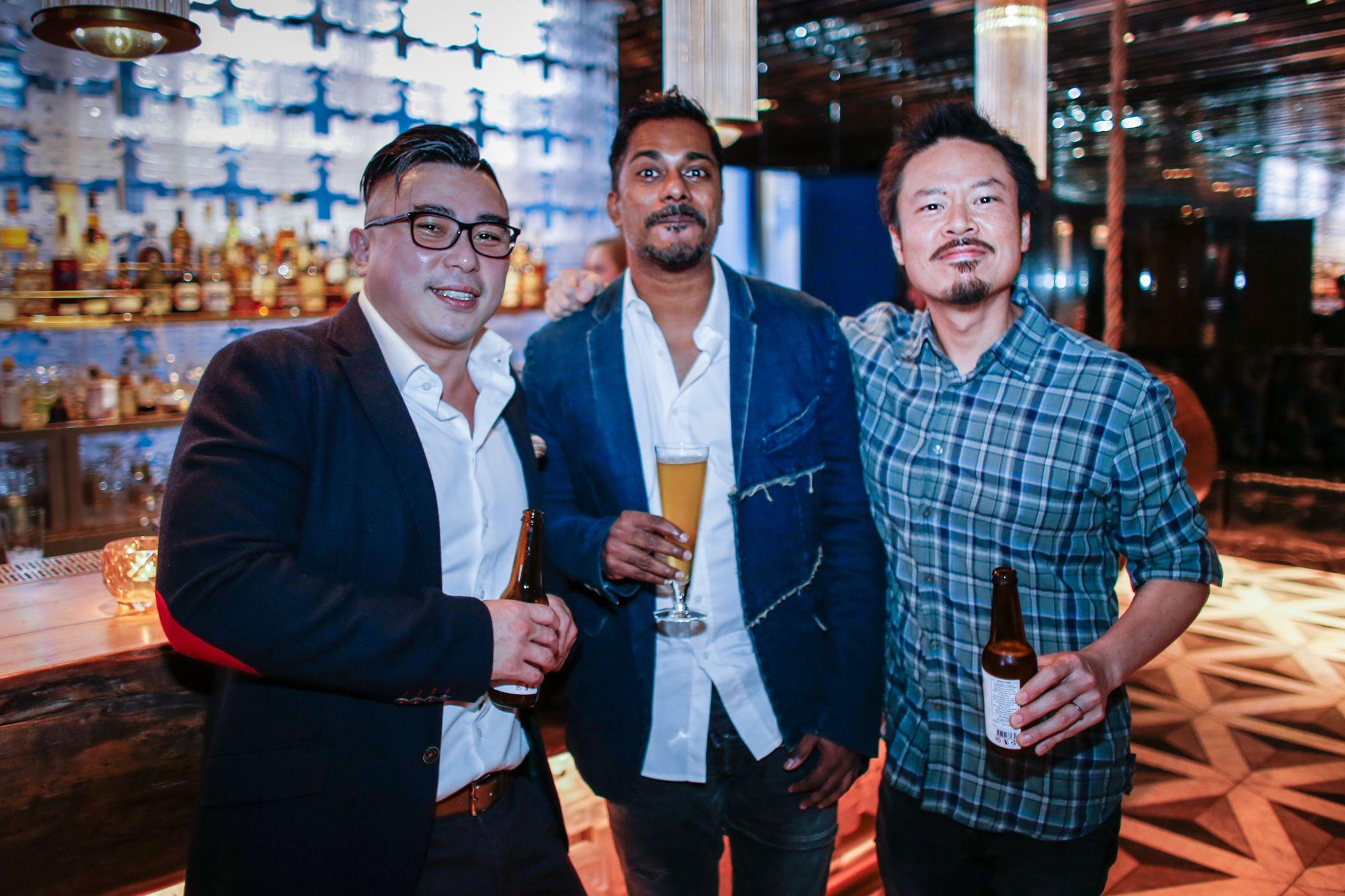 Marcus Ang, Rai Kannu, Jack Ho