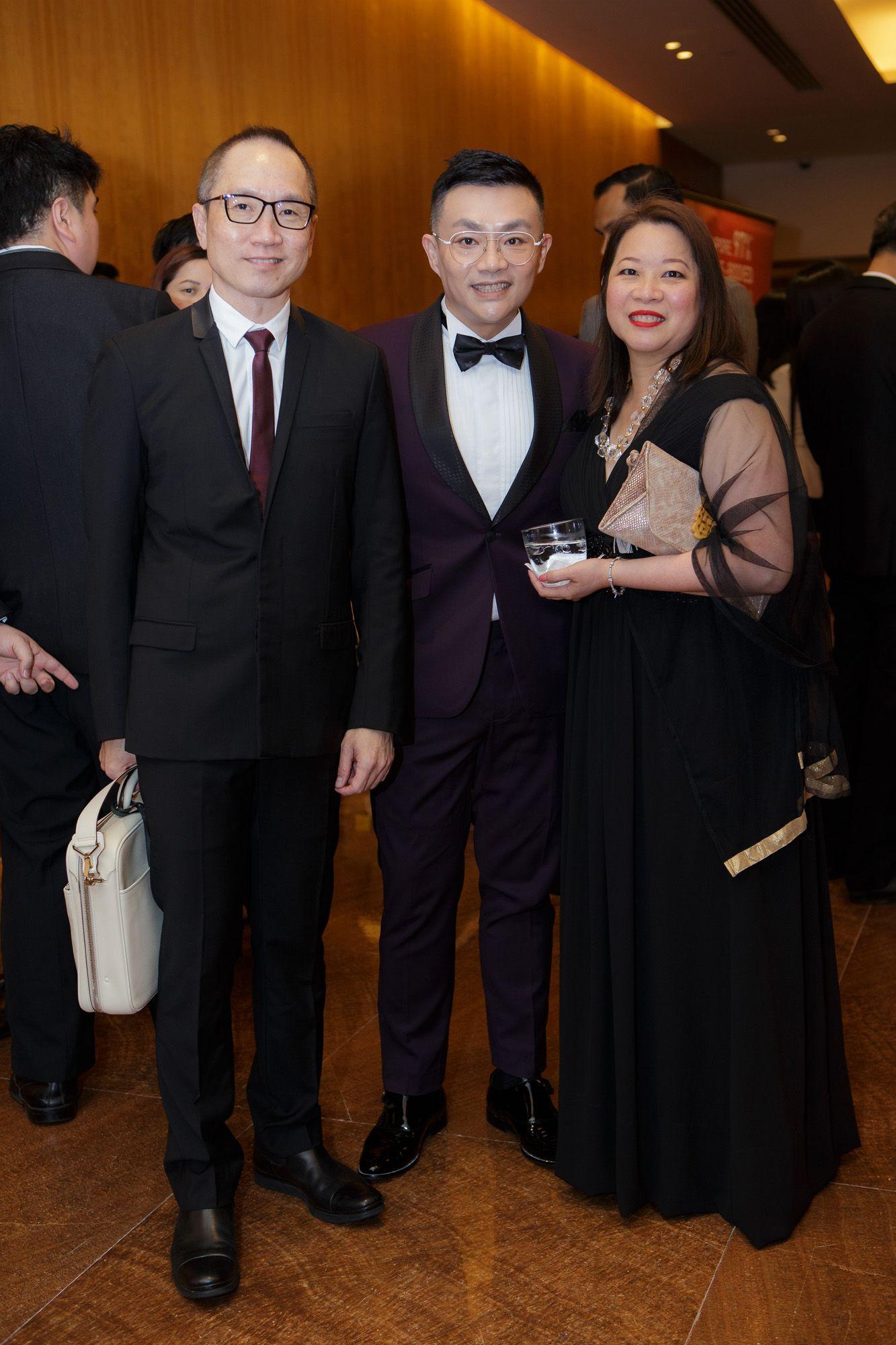 Tan Yong Meng, Mark Lee, Shirley Lim