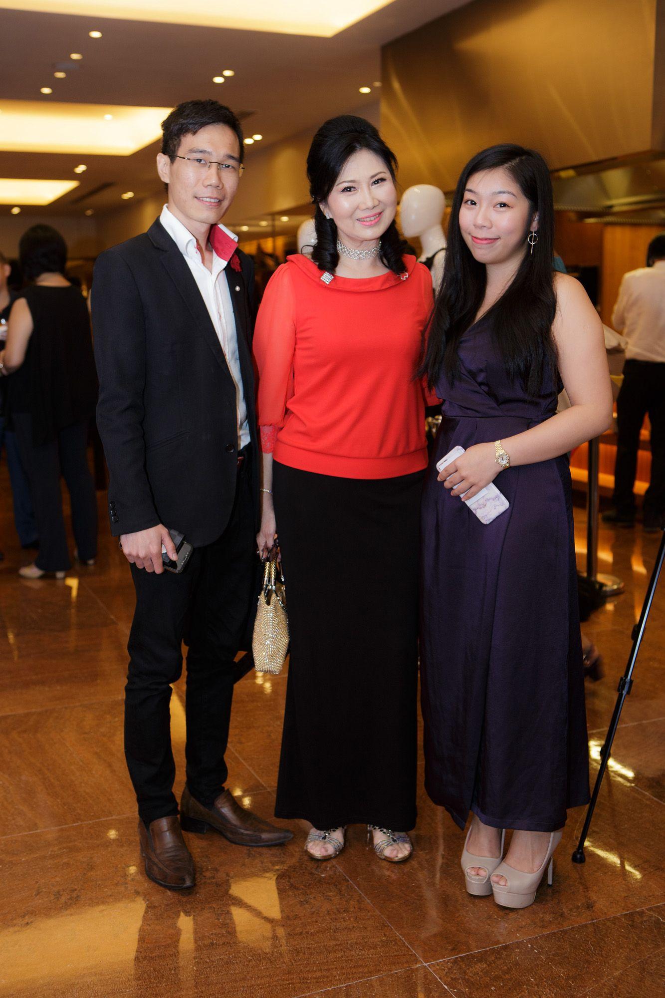 Melvin Sim, Terene Seow, Anna Chin