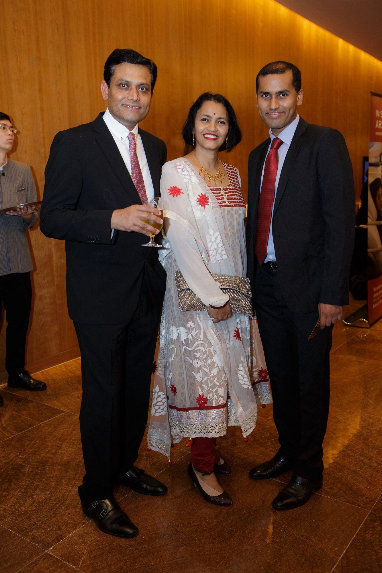 Sanjoy Sen, Supriya Sen, Nikhil Sen