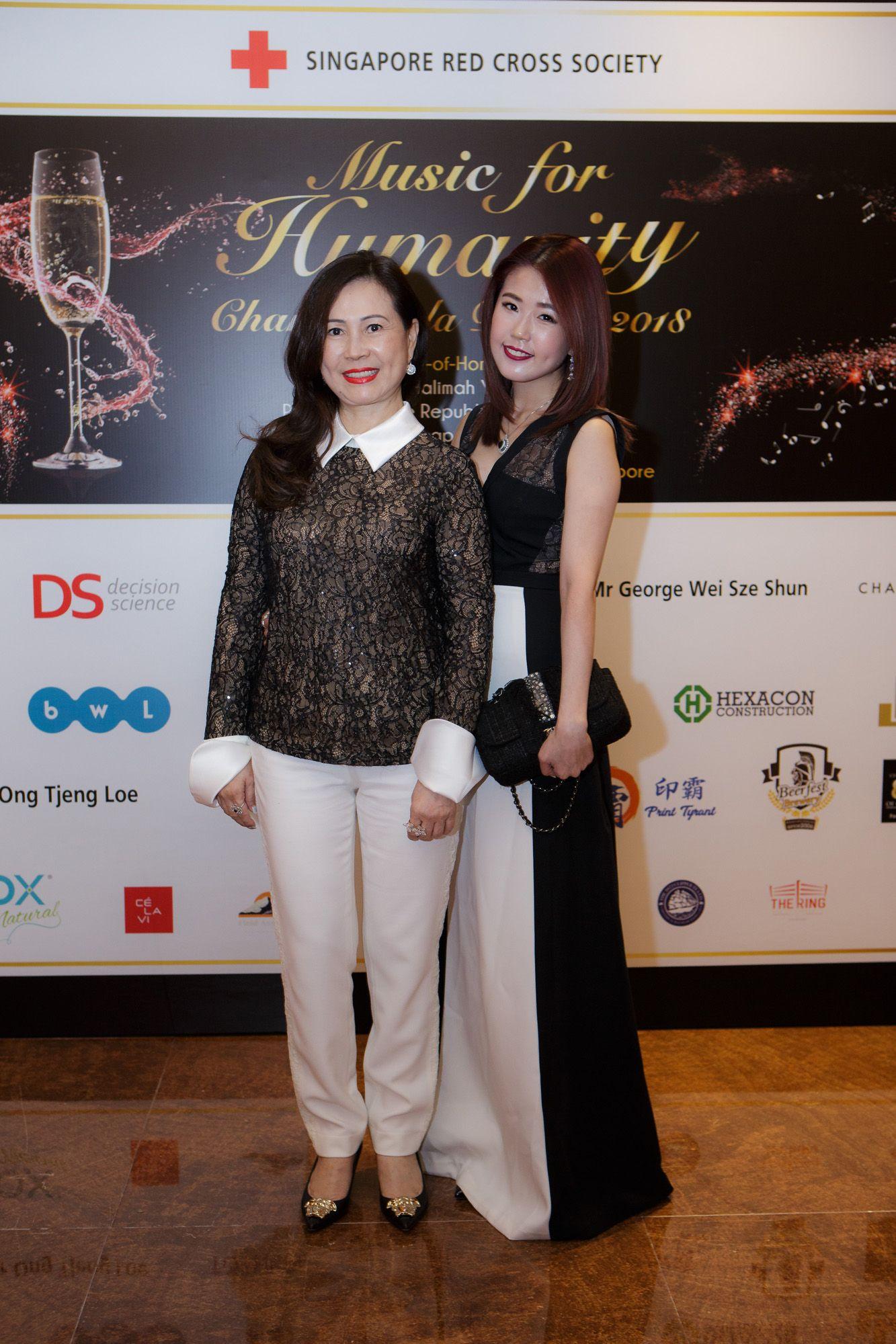 Doreen Tan, Amber Pek