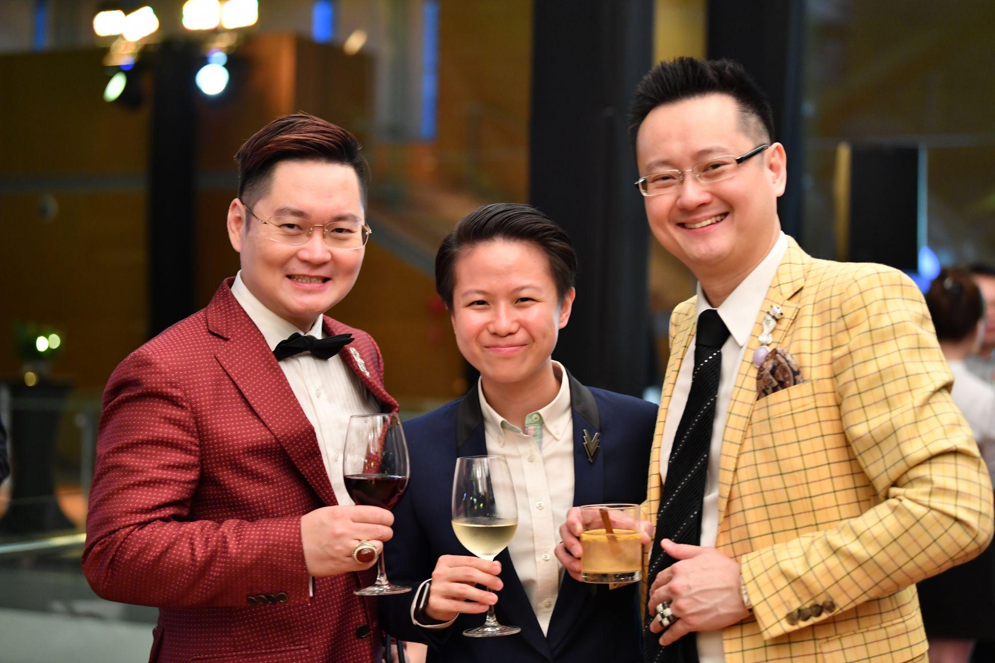 Kelvin Tan, Joewin Tan, Dennis Tan